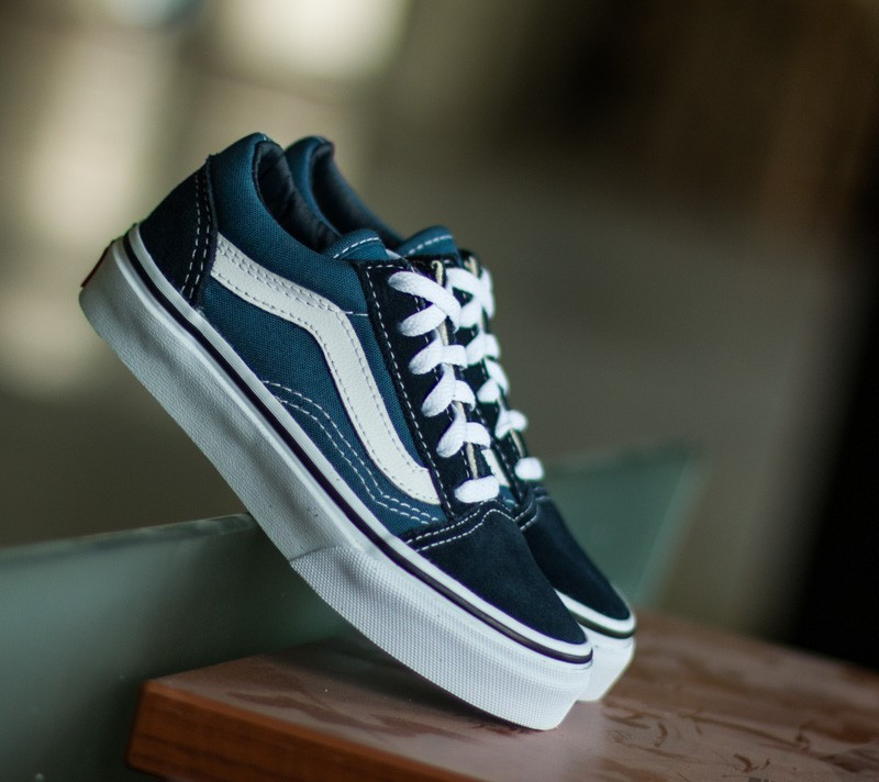 Vans Kids Old Skool Navy/ True White Footshop – FR
