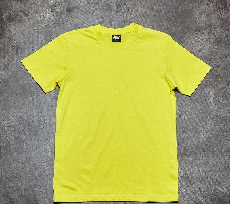 Urban Classics Basic Tee Yellow