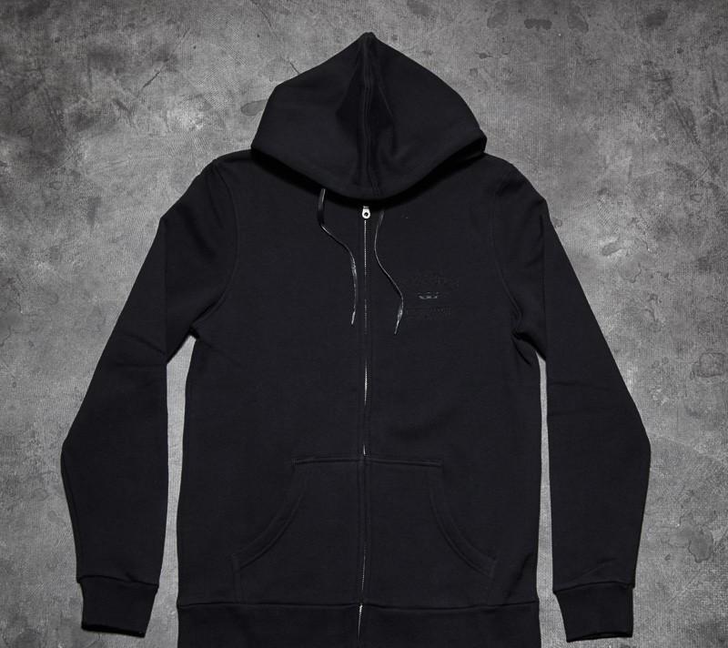 Supra Contender Zip Hood Black