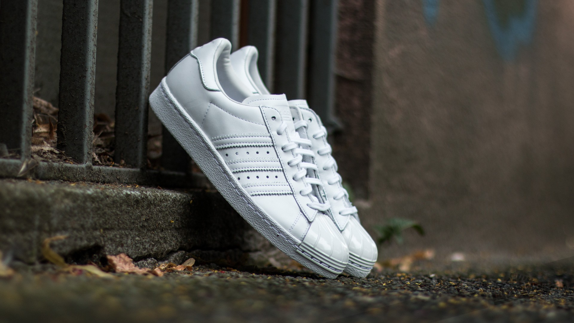adidas Superstar 80s Metal Toe W Ftw White/ Ftw White/ Core Black Footshop – FR