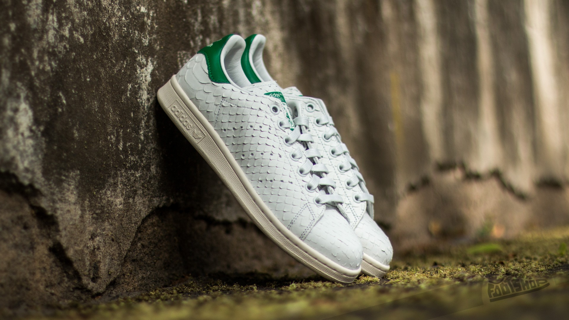 adidas Stan Smith W Crystal White/ Crystal White/ Green