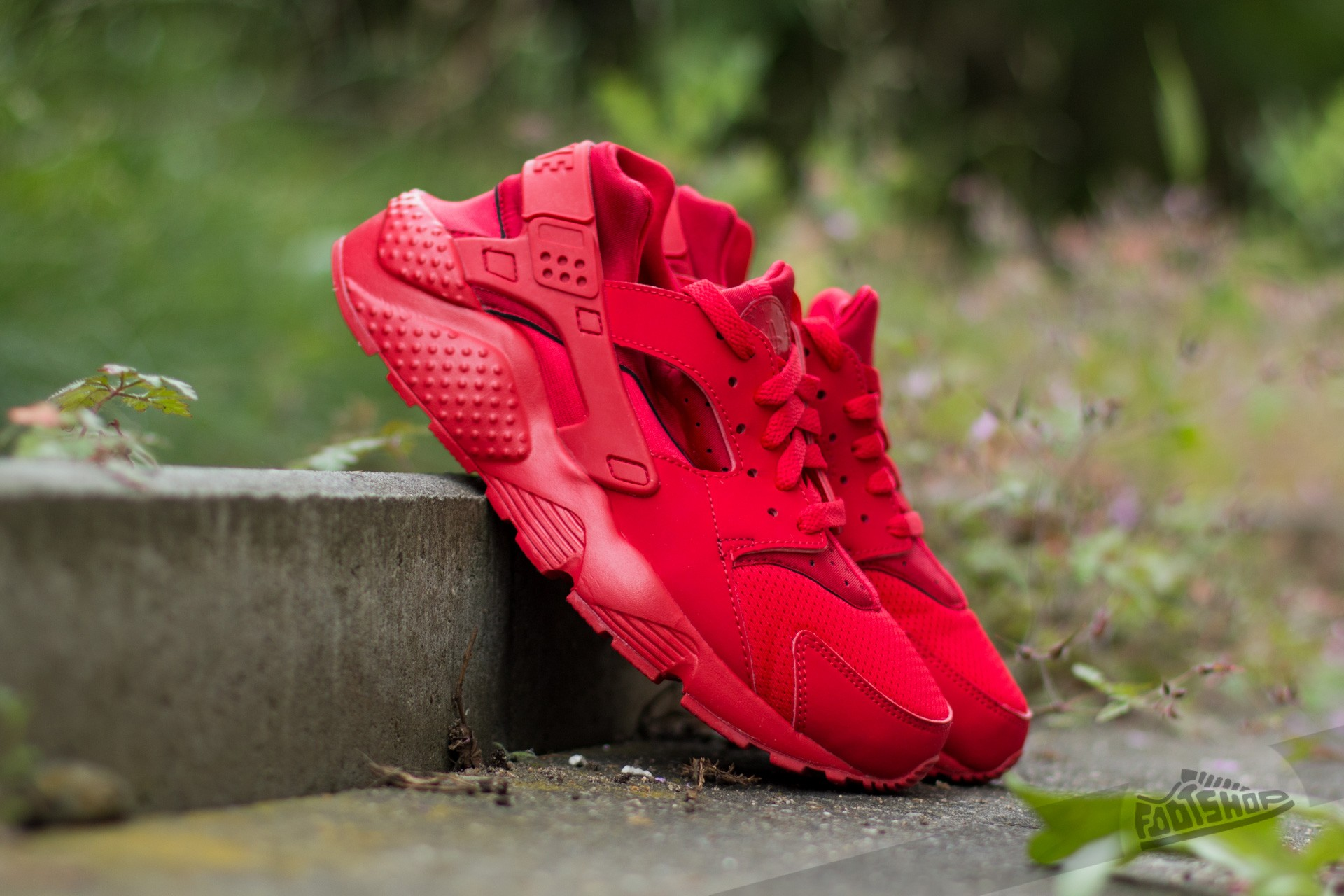 Nike Huarache Run (GS) University Red/ University Red-University Footshop – FR