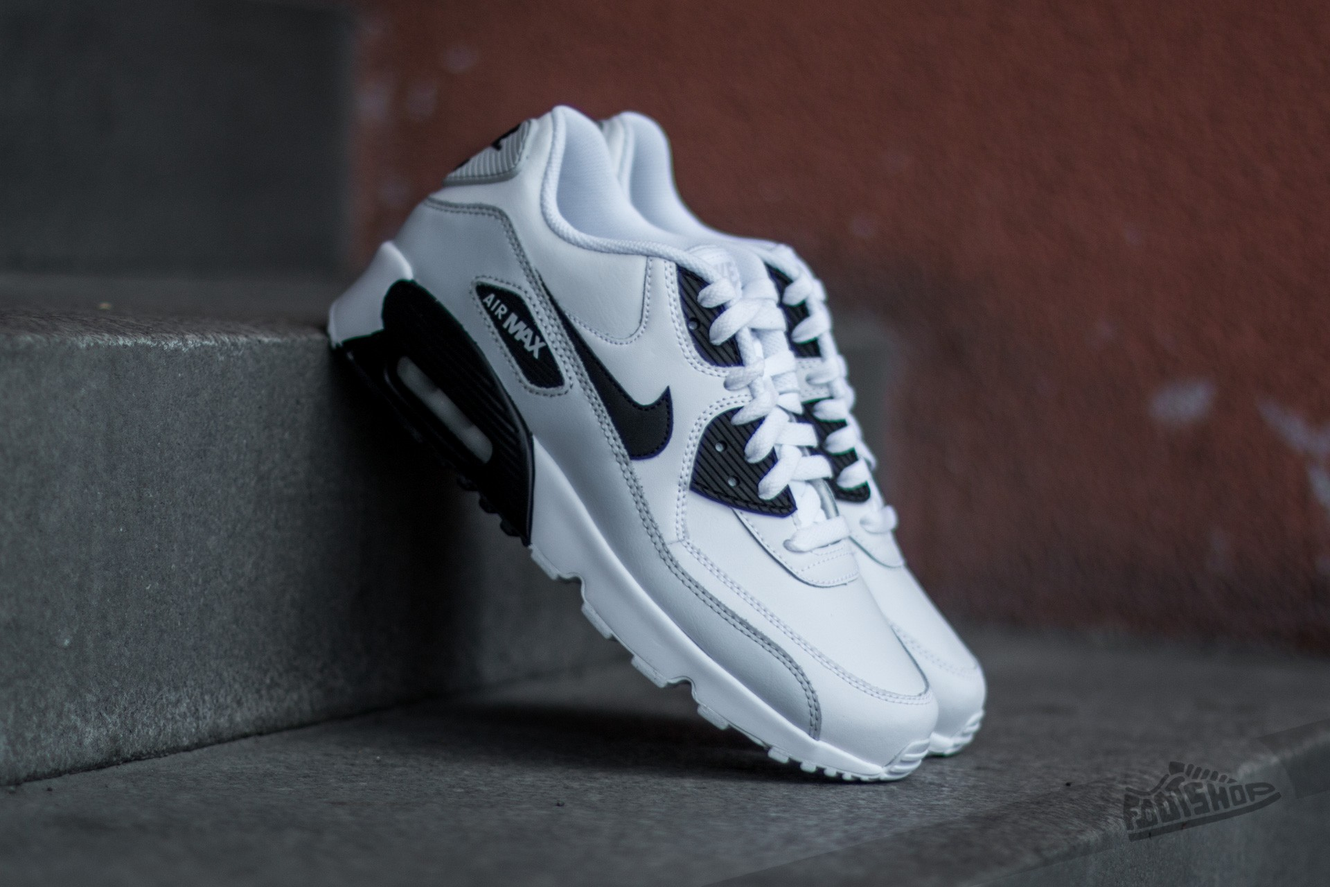 Nike Air Max 90 LTR (GS) White/ Black-Pure Platinum-White Footshop – FR