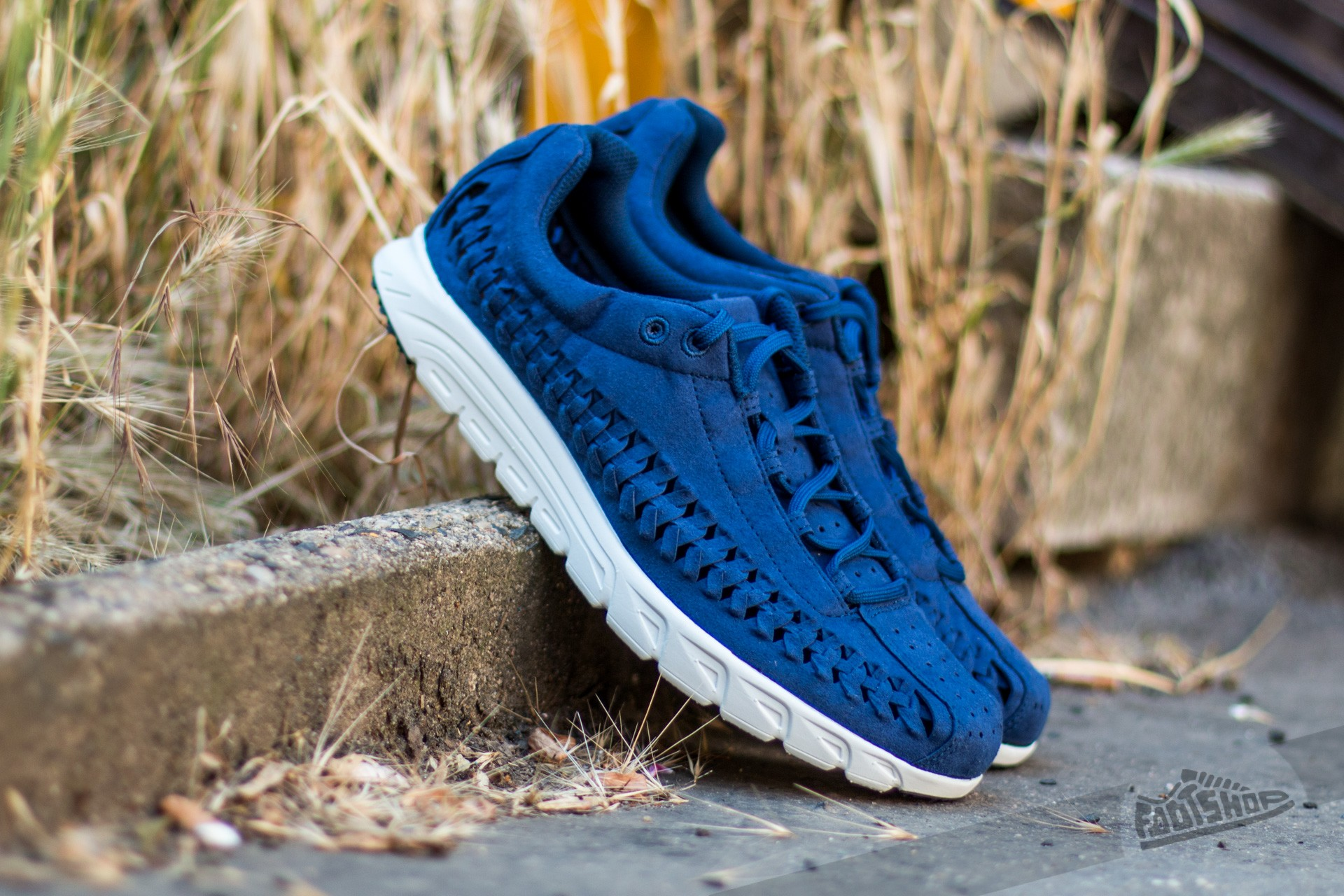 Nike Mayfly Woven Coastal Blue/ Black-Off White Footshop – FR
