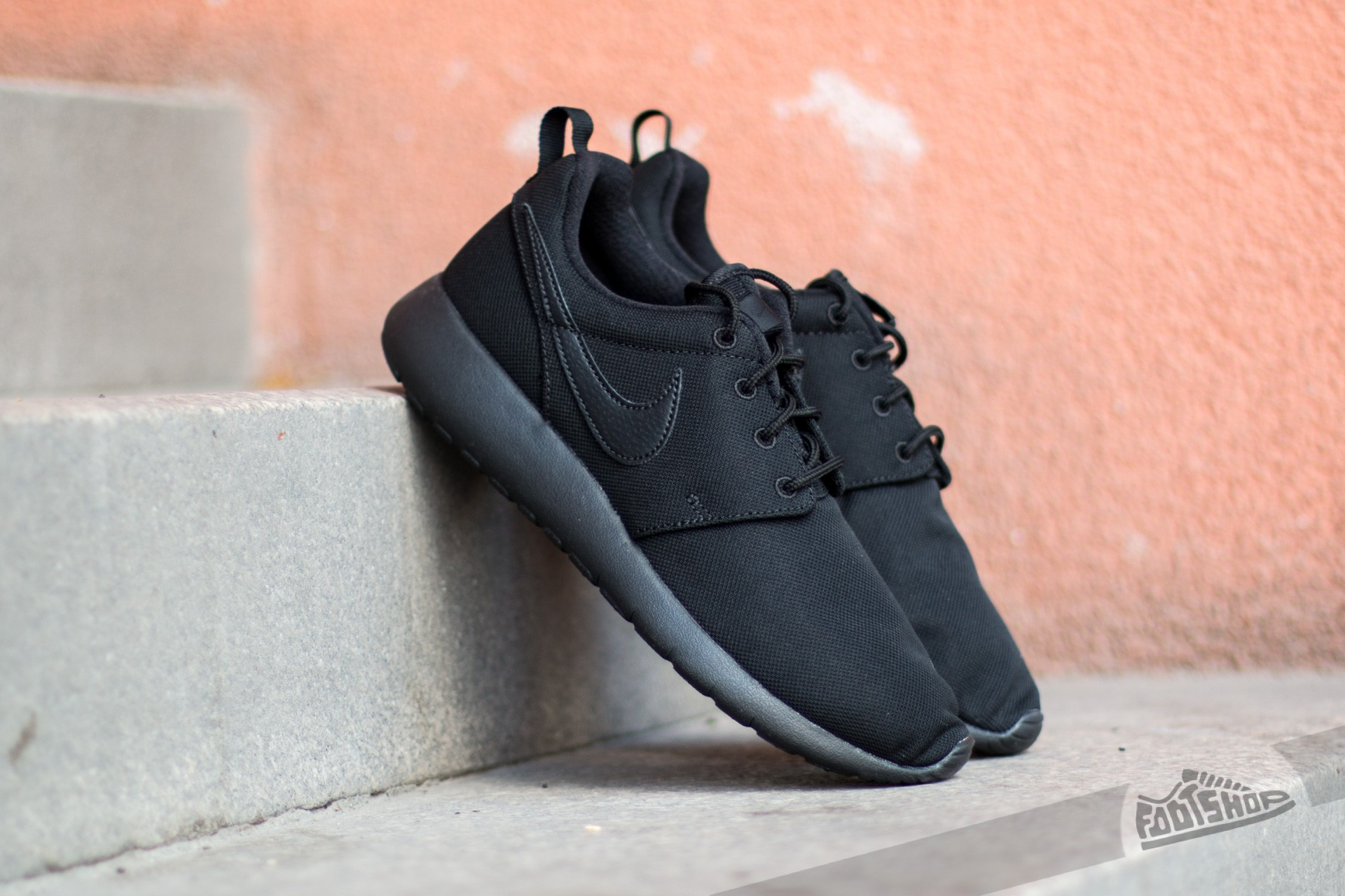 Nike Roshe One (GS) Black/ Black-Black Footshop – FR
