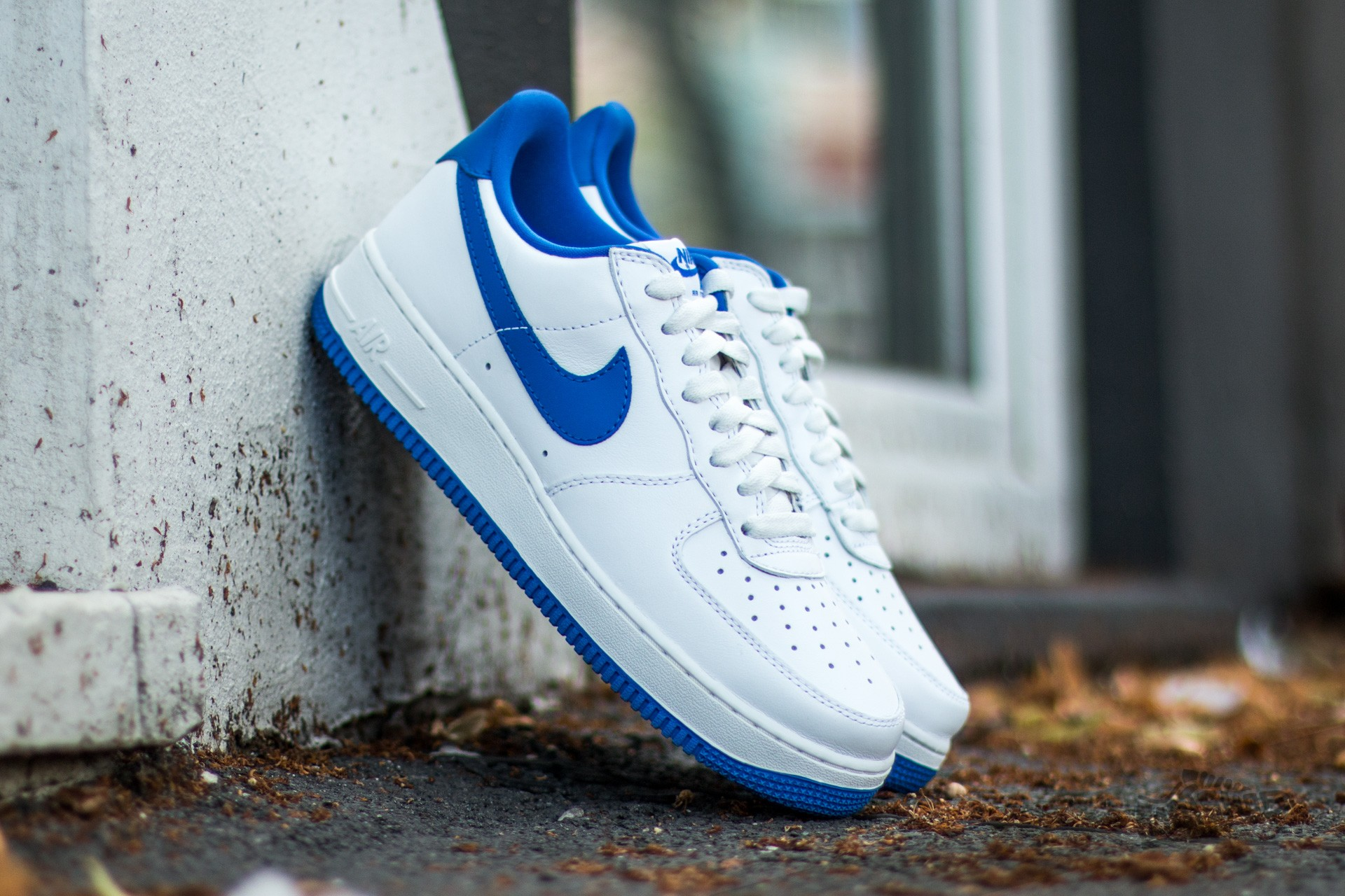 Nike Air Force 1 Low Retro Summit White/ Game Royal Footshop – FR