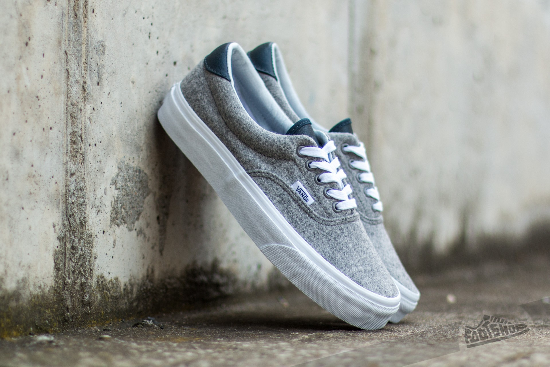 Vans Era 59 (Varsity) Gray/ True White Footshop – FR