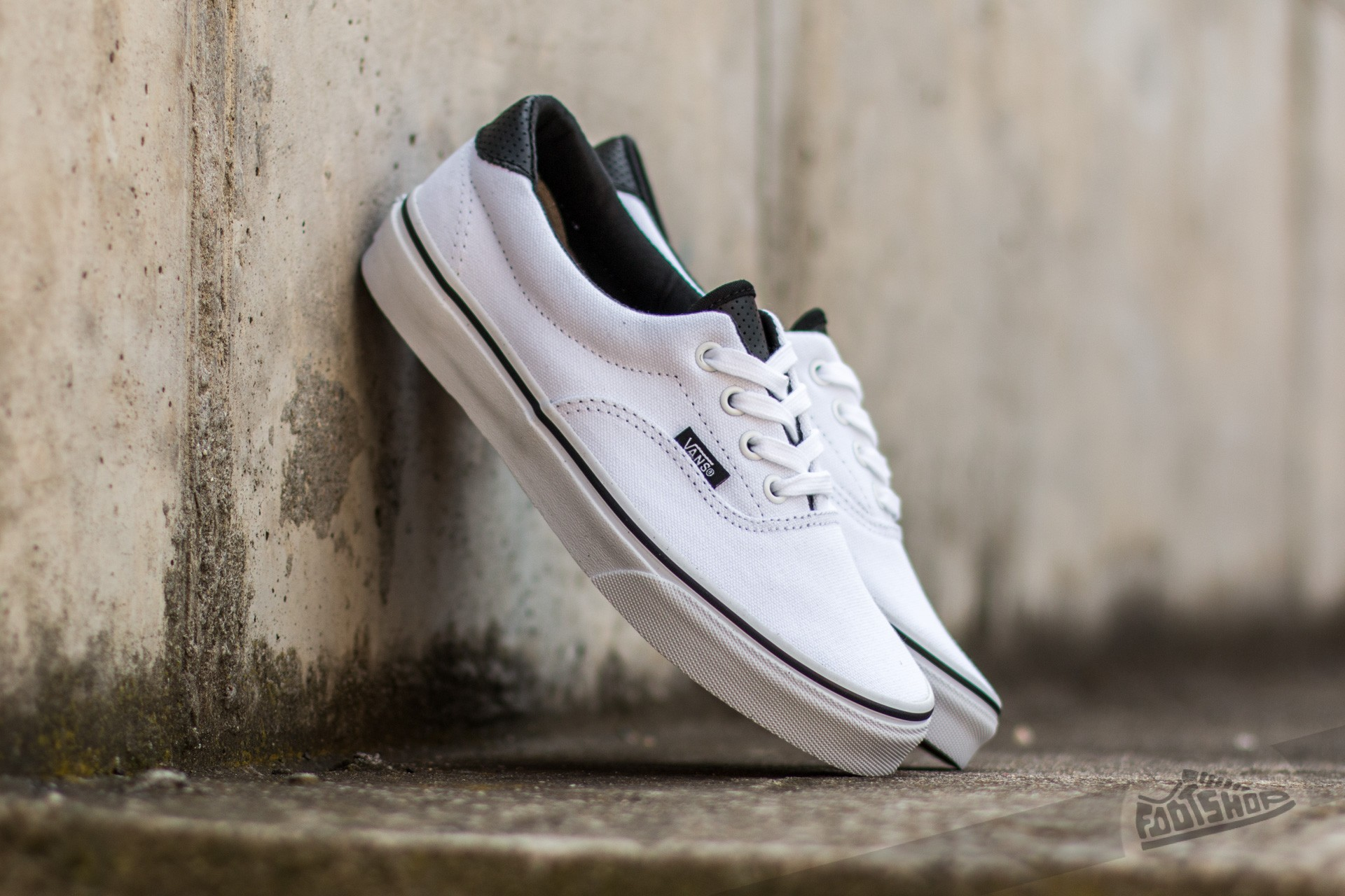 Vans Era 59 (C&P) True White/ Black Footshop – FR