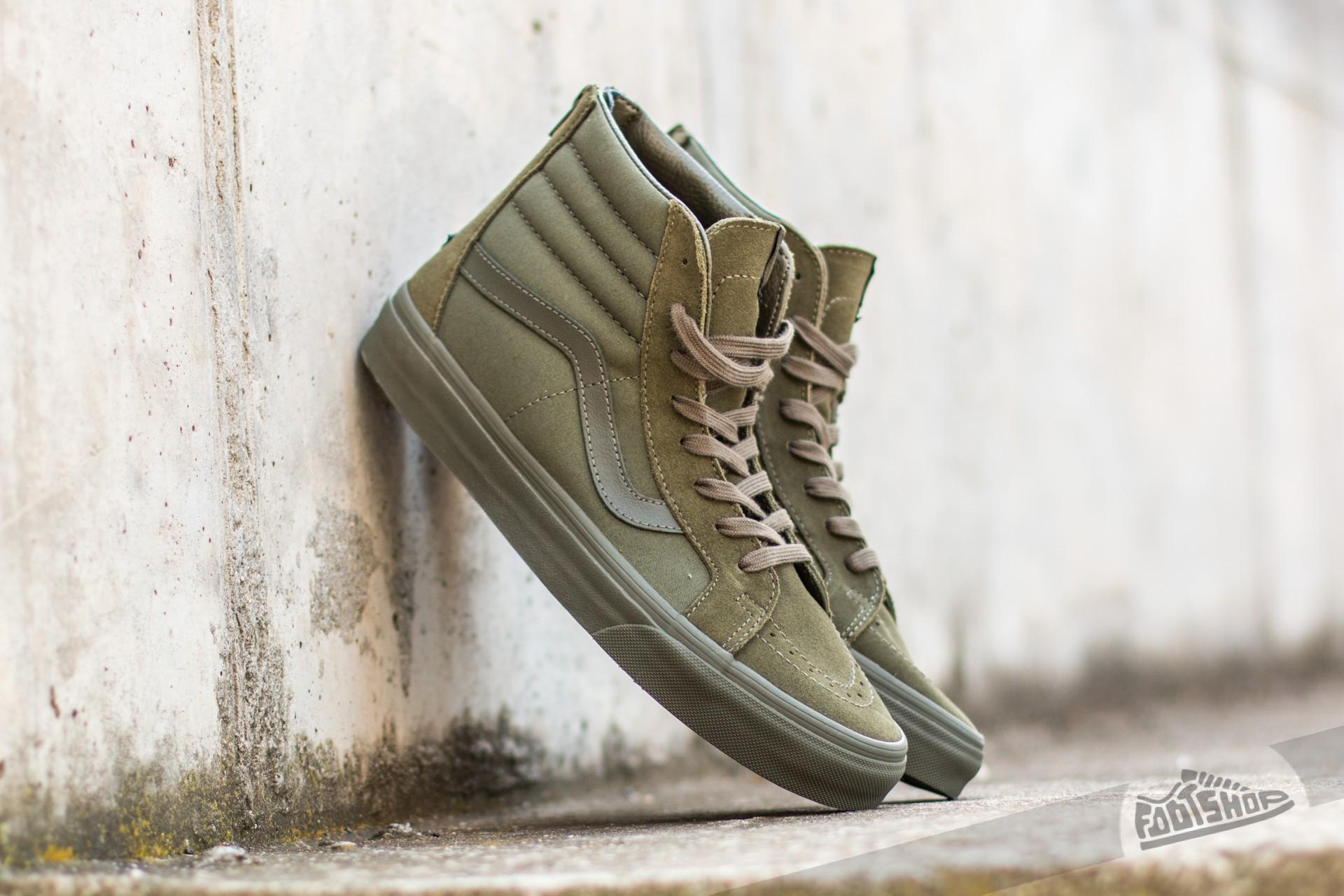 Vans Sk8-Hi Reissue Zip (Mono) Ivy Green Footshop – FR