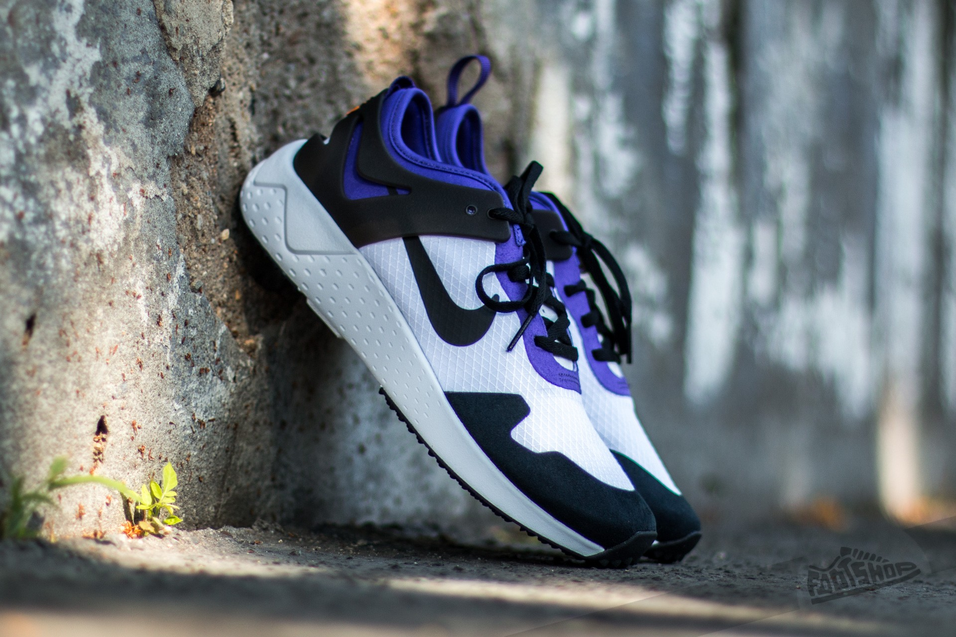 Nike Zoom Lite QS White/ Black-Court Purple-Bright Citrus