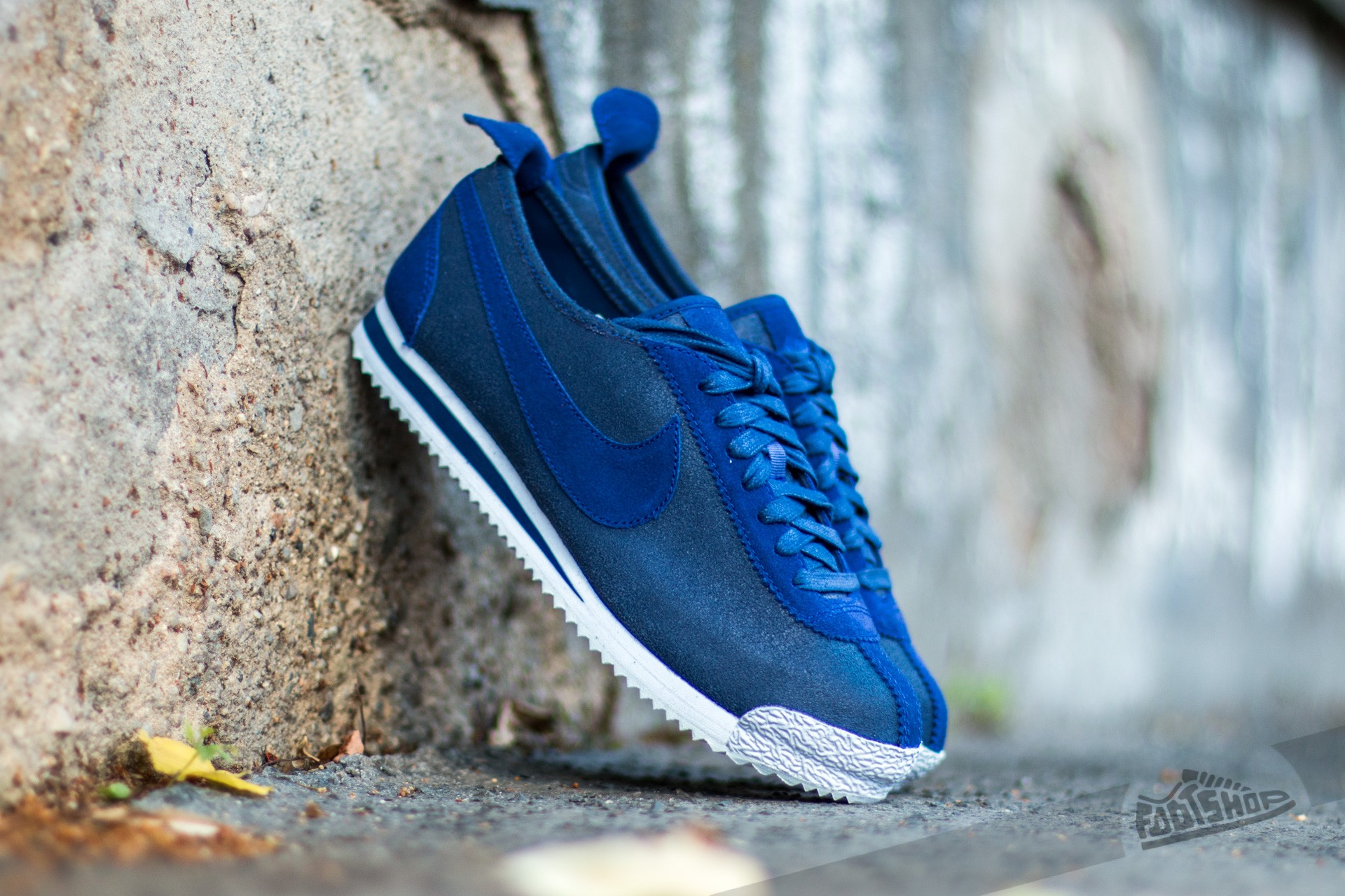 Nike Cortez '72 Loyal Blue/ Loyal Blue- Metallic Pewter- White Footshop – FR