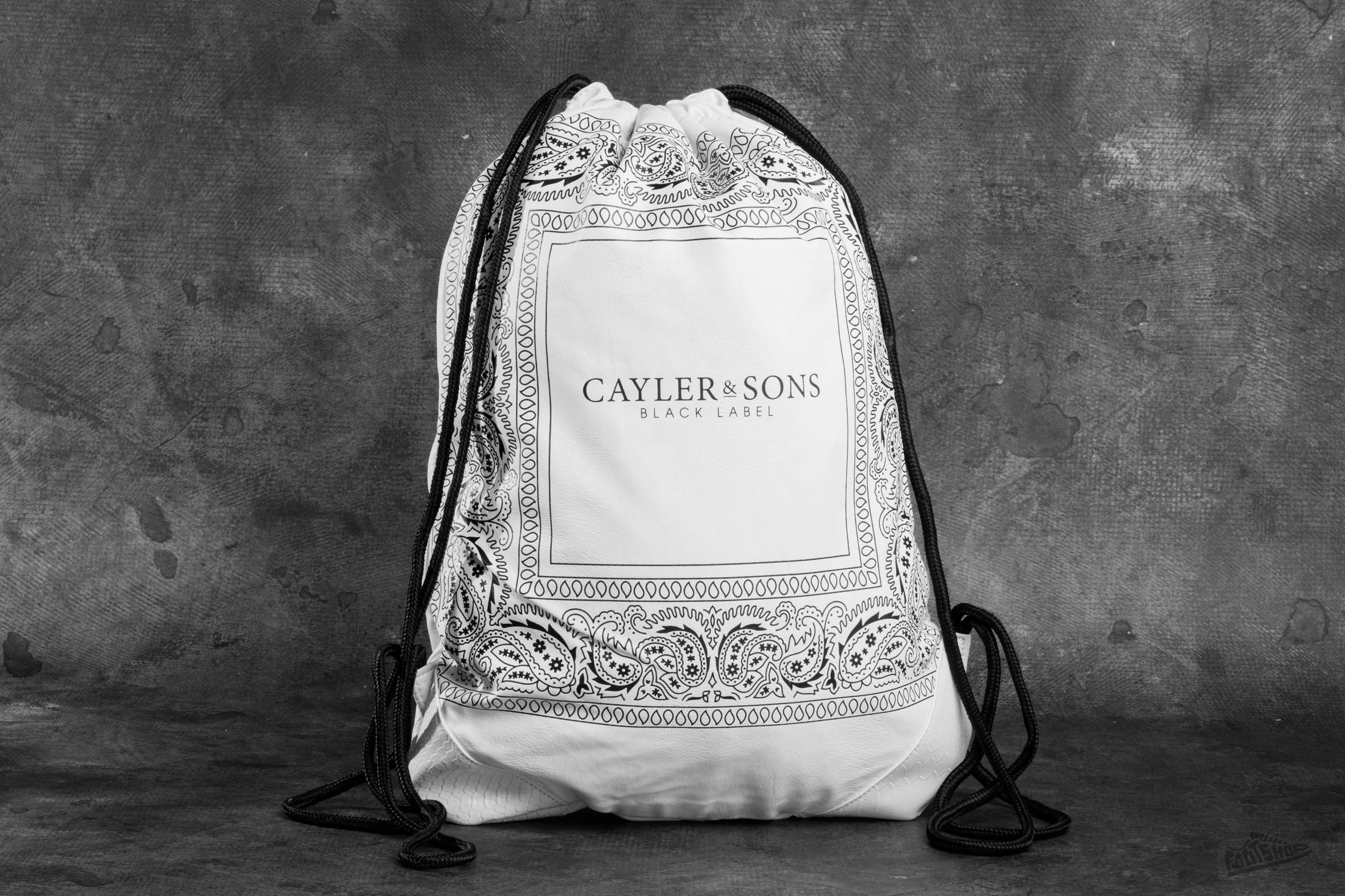 Cayler & Sons BL Paiz Gym Bag White/ Black Footshop – FR