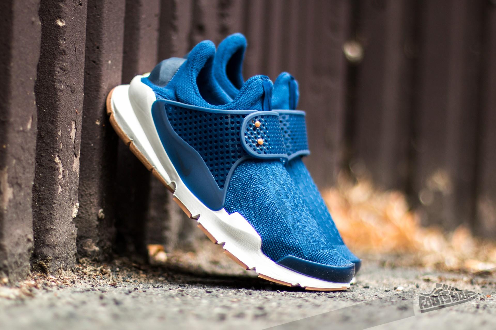 Nike Wmns Sock Dart Coastal Blue/ Obsidian-Obsidian-Sail