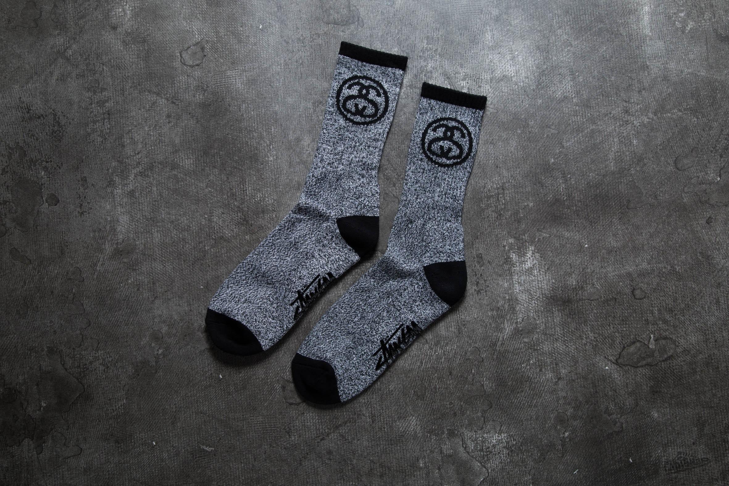 Stüssy SS Link Socks Black/ White