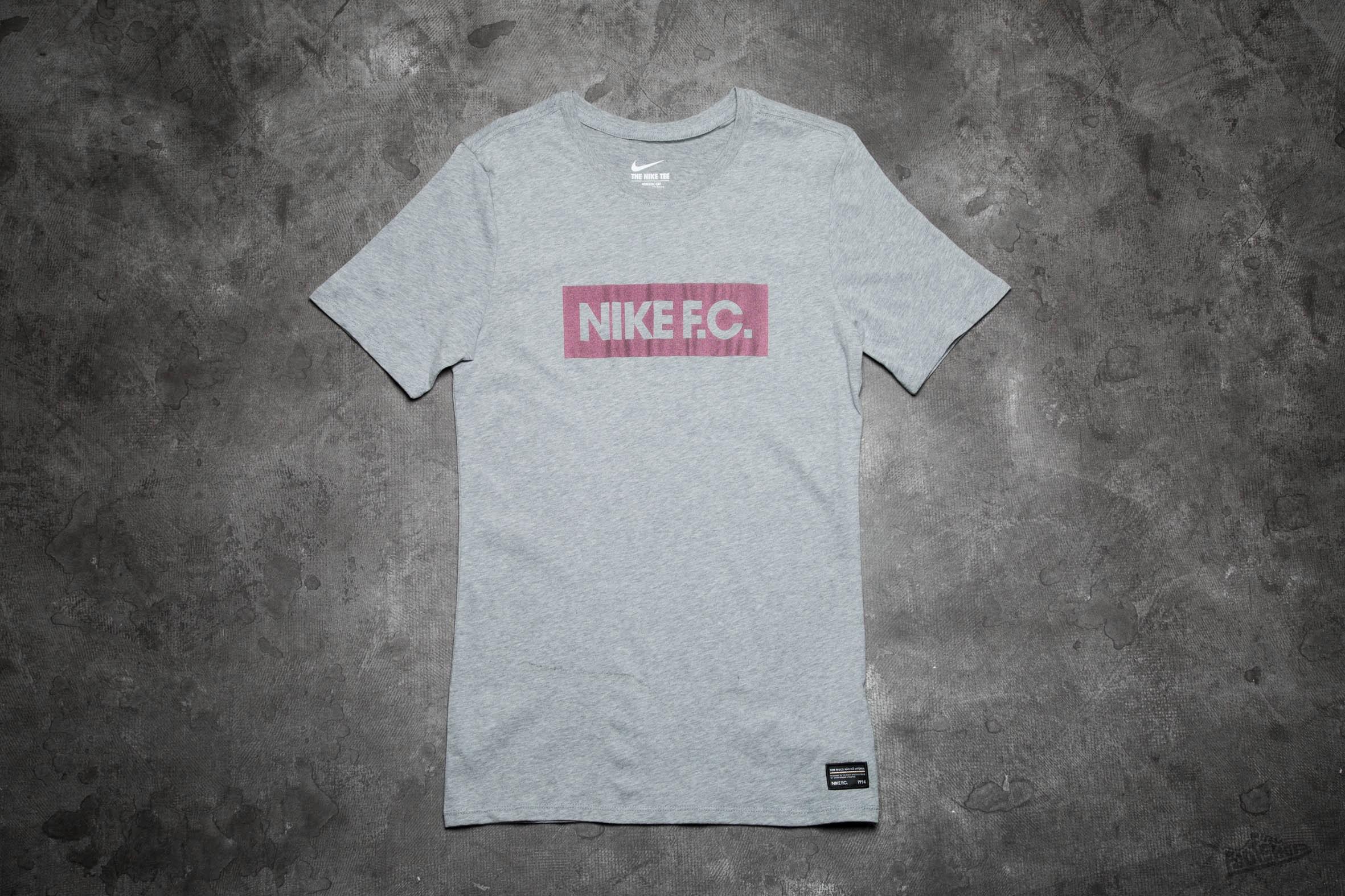 Nike FC Color Shift Block Tee Grey