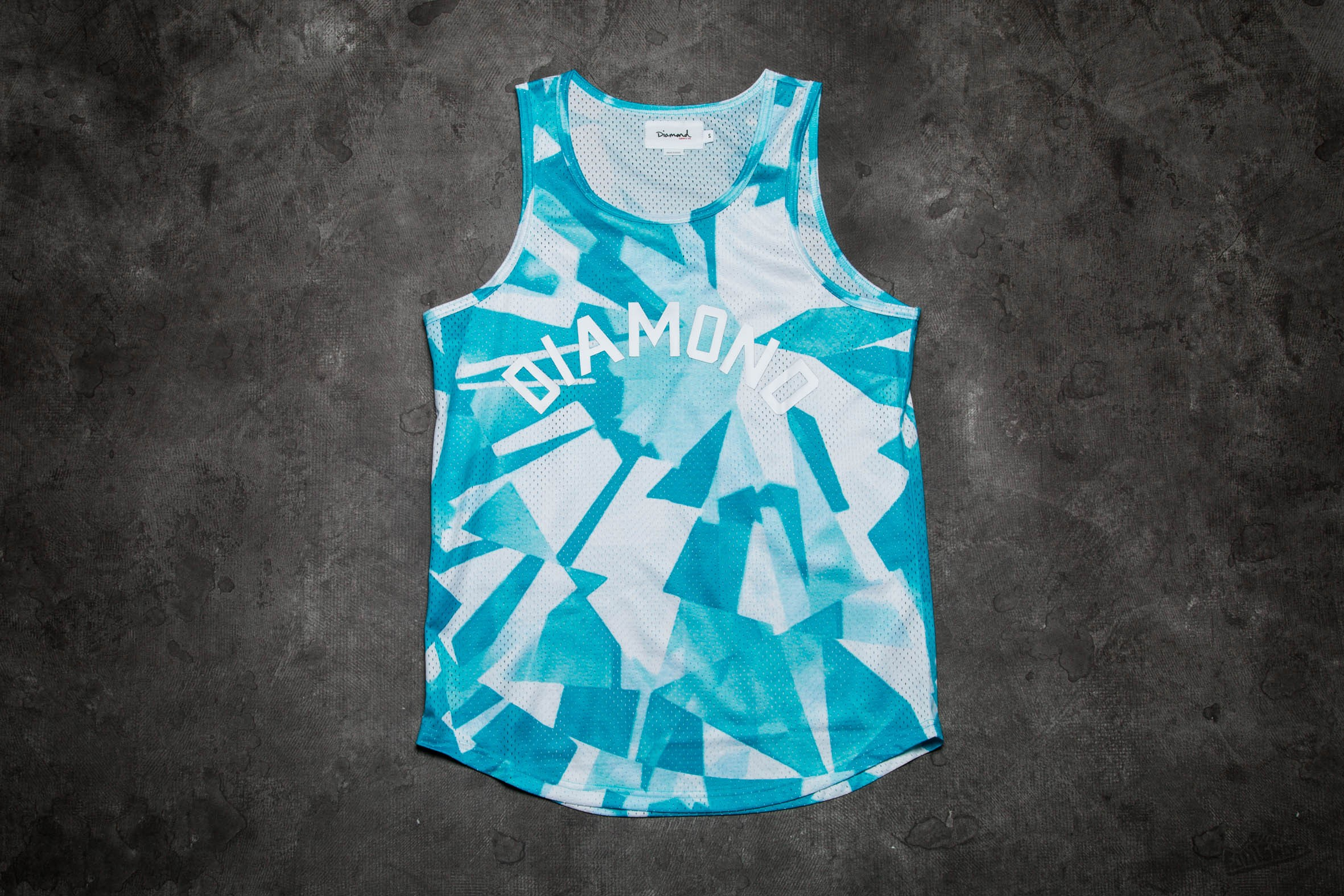 Diamond Supply Co. Simplicity Basketball Jersey Blue