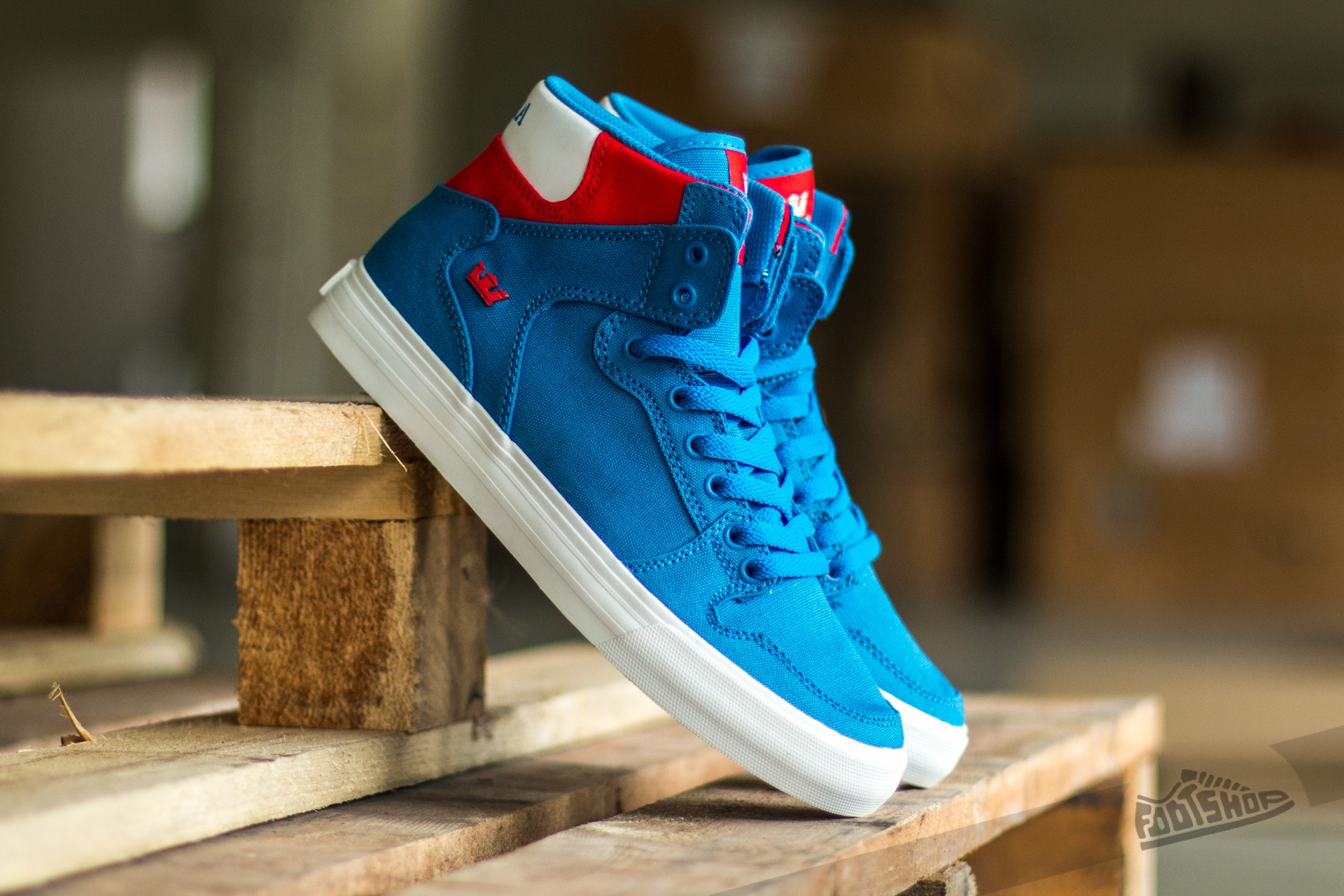 Supra Vaider D Royal/ Red-White Footshop – FR