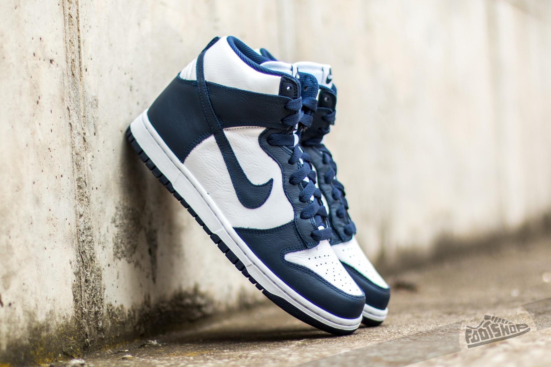 Nike Wmns Dunk Retro QS White/ Midnight Navy Footshop – FR