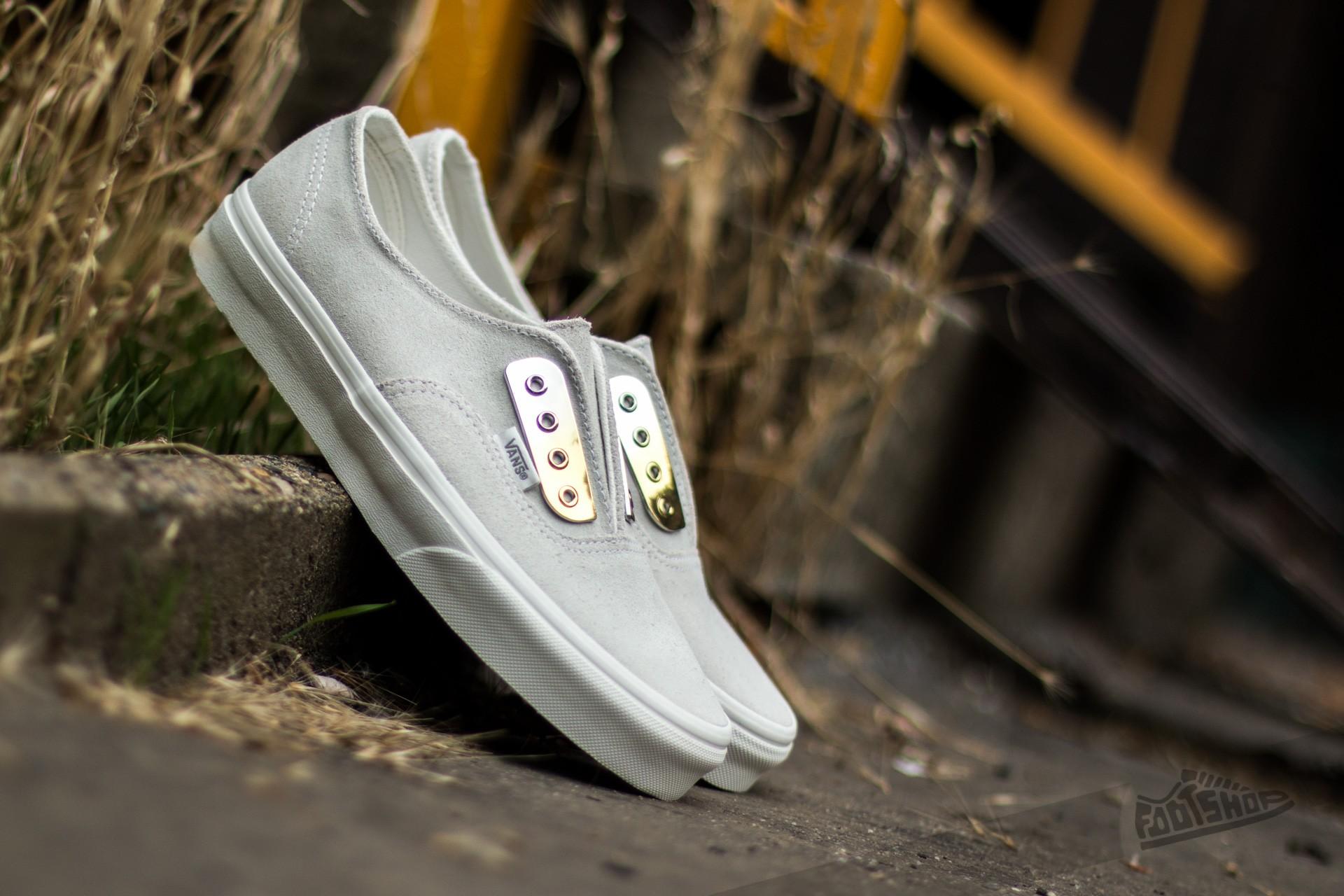 Vans Authentic Gore (Metal Eyeplate) Blanc De Blanc