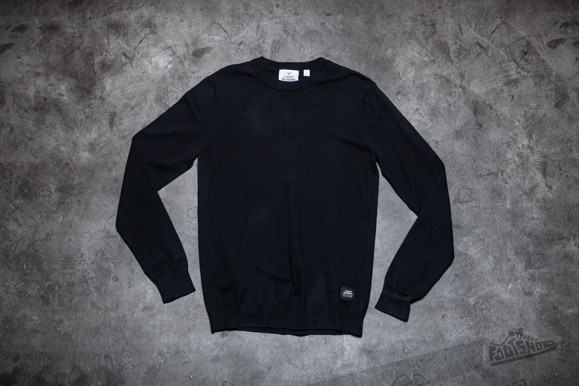 Cheap Monday Shocked Knit Tee Black