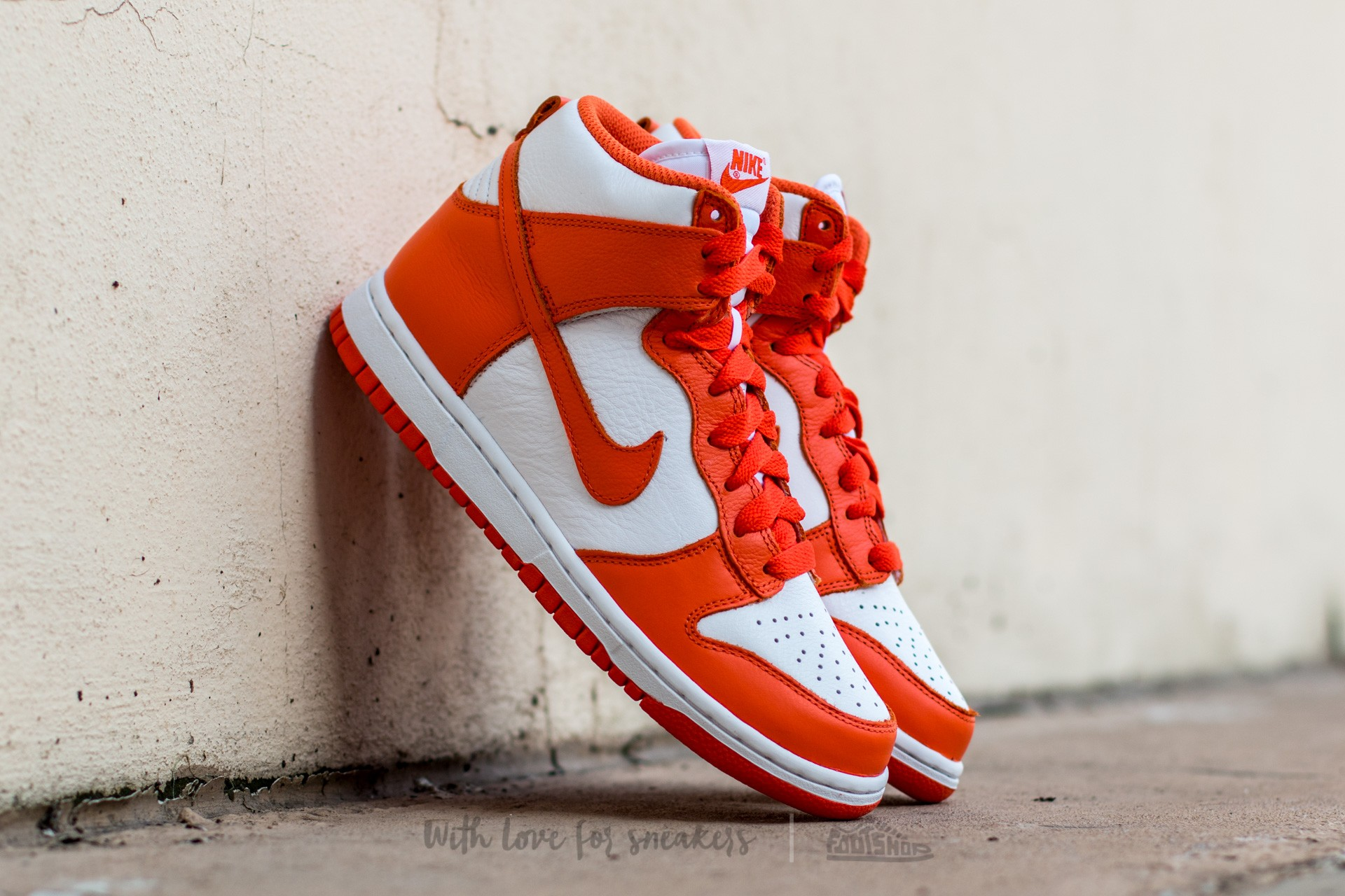 Nike Wmns Dunk Retro QS White/ Orange Blaze