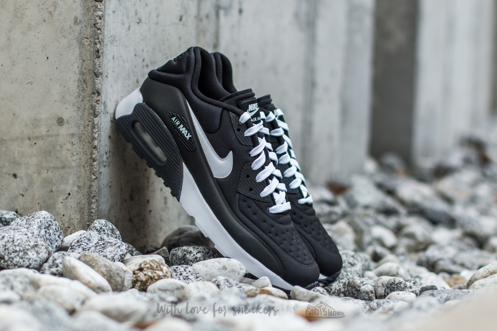 Nike Air Max 90 Ultra SE (GS) Black/ White Footshop – FR
