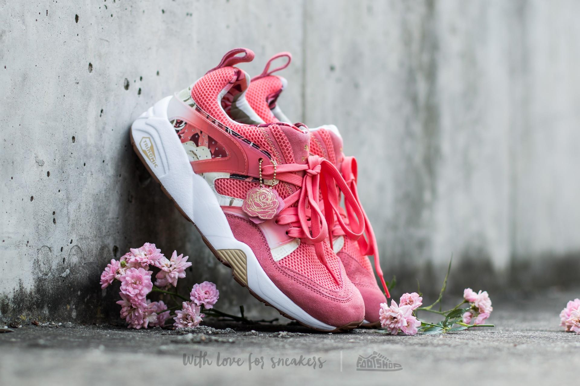 Puma Bog X Careaux X Graphic Porcelain Rose-Rose-White