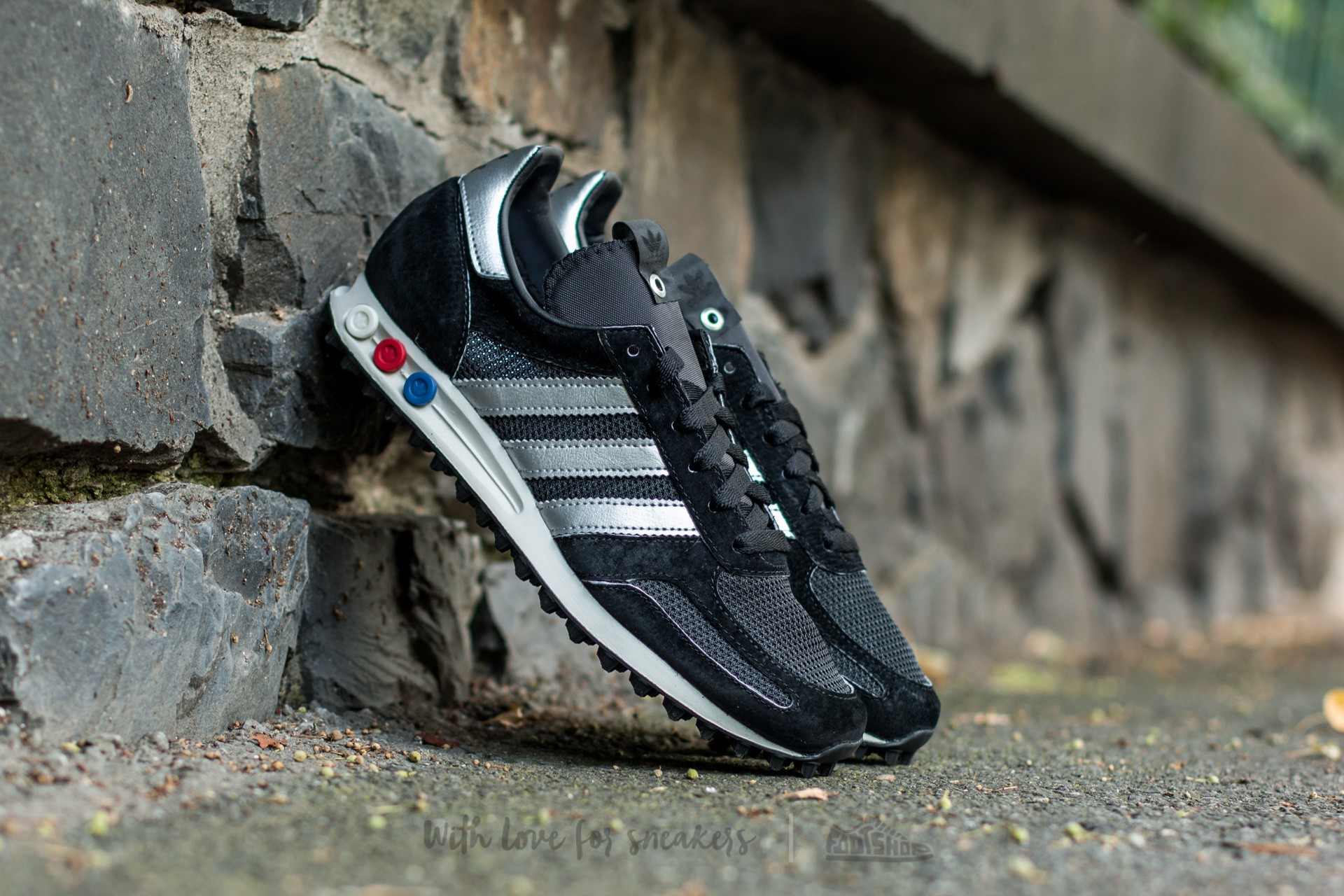 adidas LA TRAINER OG Made in Germany Core Black/ Metsil/ Core Black