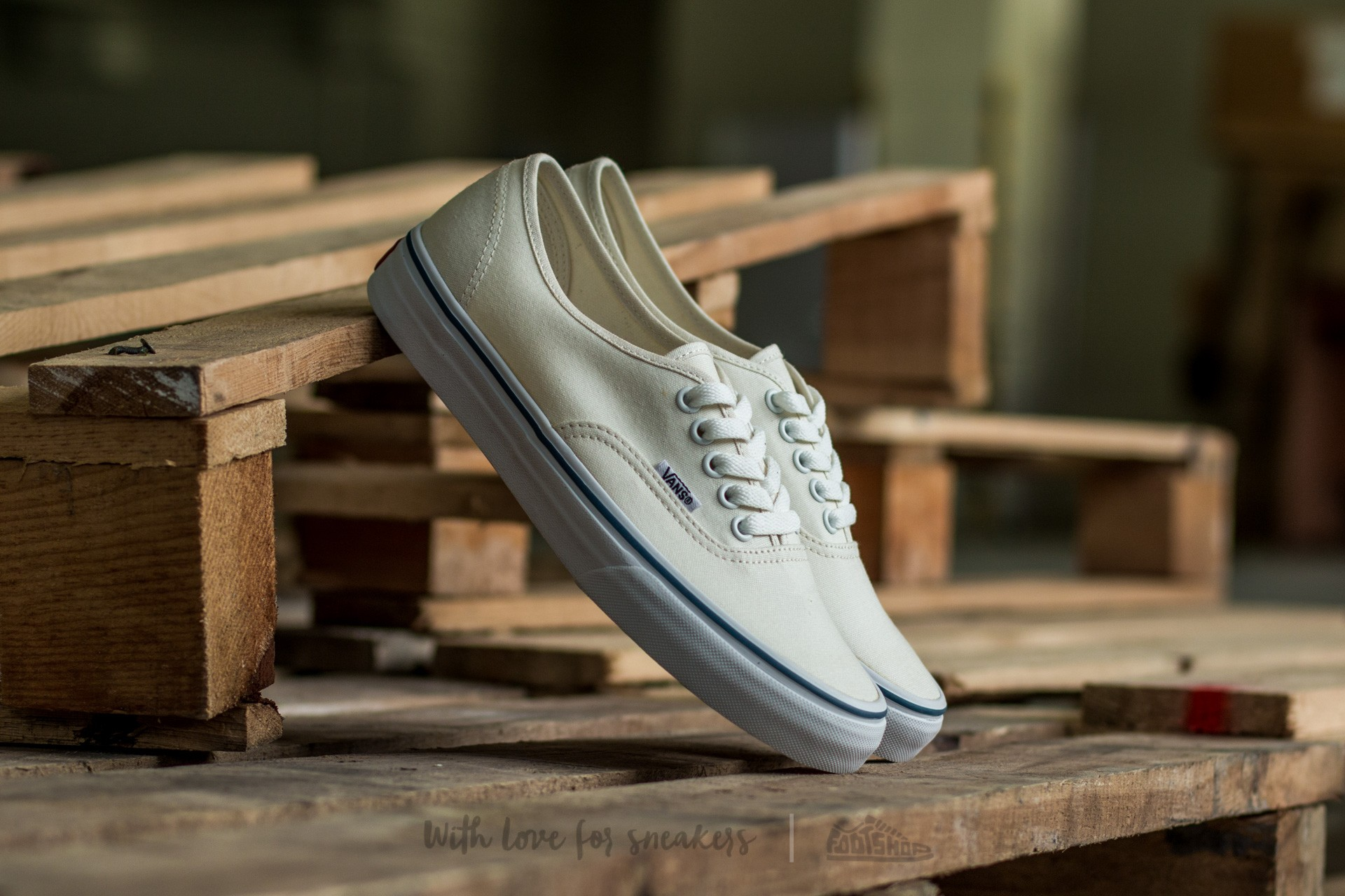 Vans Authentic White Footshop – FR