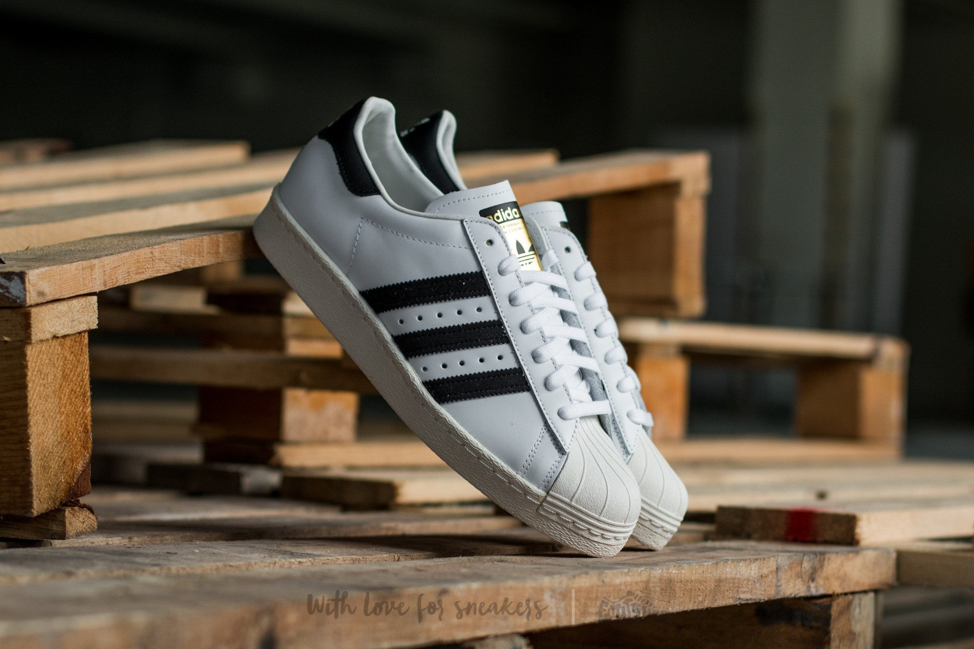 adidas Superstar 80s White/Black1/Chalk2