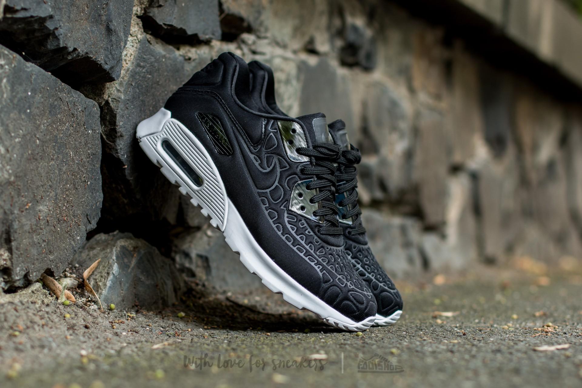 Nike Wmns Air Max 90 Ultra Plush Black/ Black-White