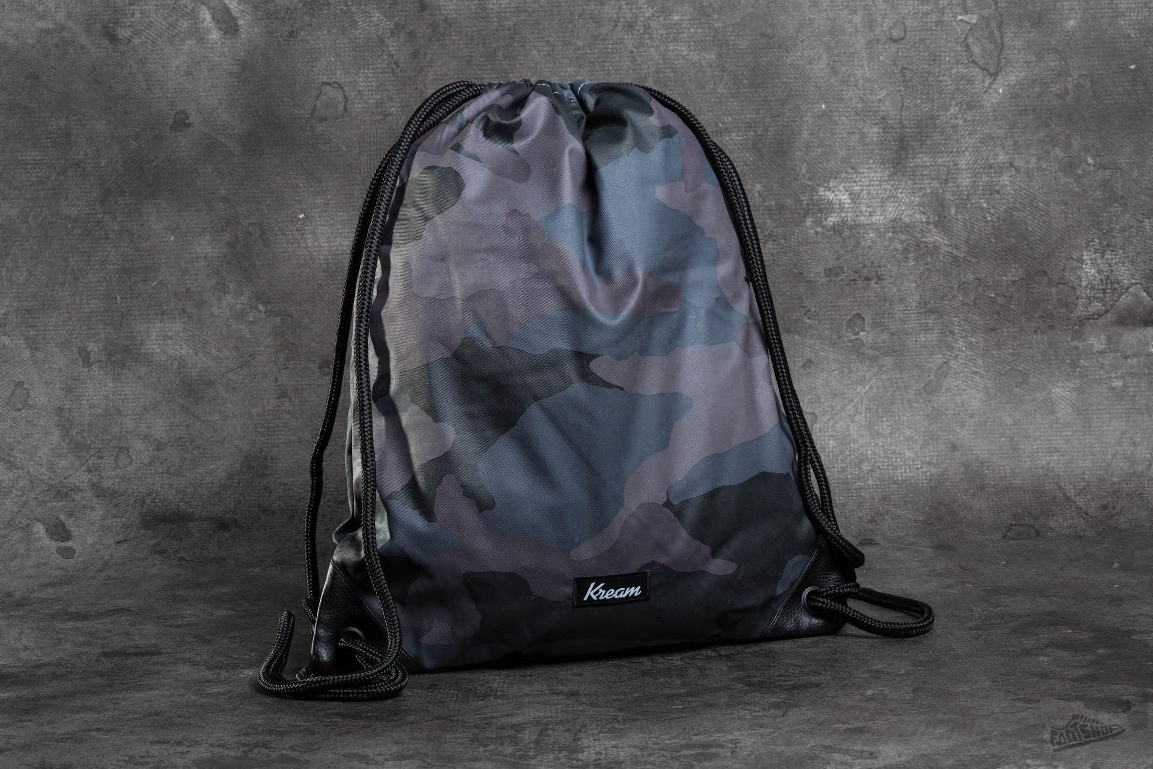 Kream Ye Camo Bag Black/ Multi Colors