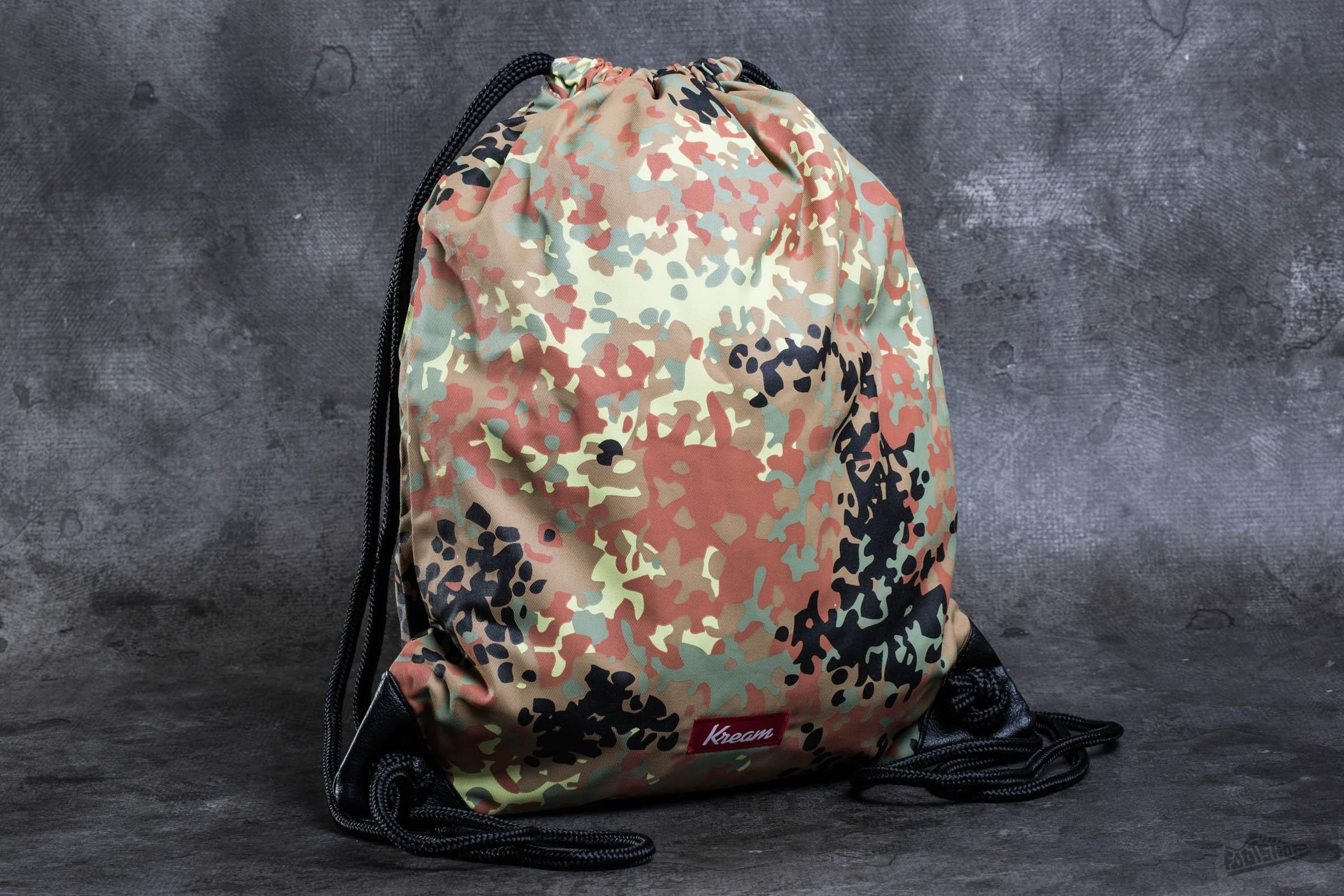 Kream Duck Down Bag Black/ Multi Colors