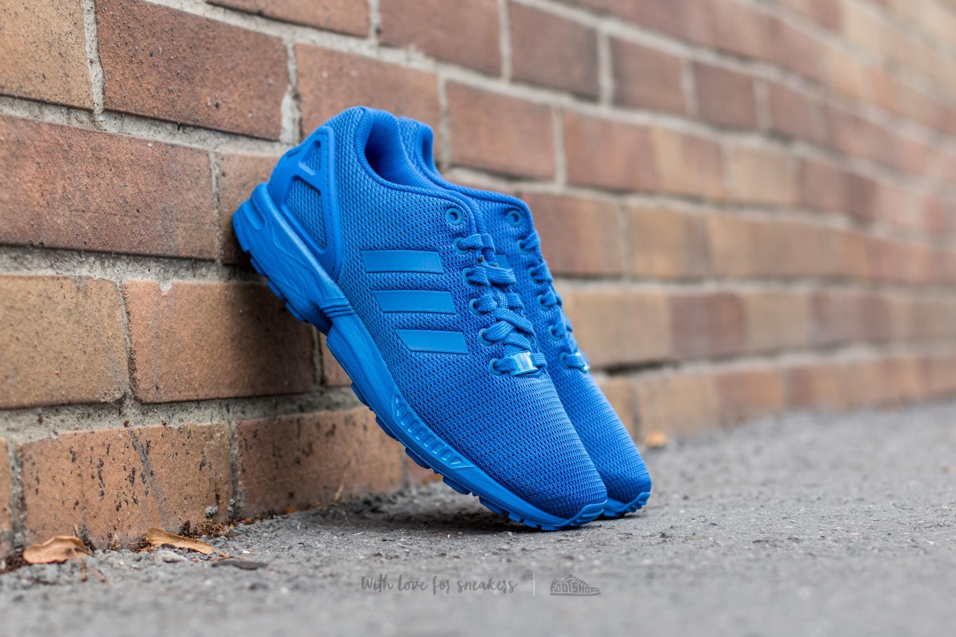 adidas ZX Flux Blue/ Blue/ Bold Blue Footshop – FR
