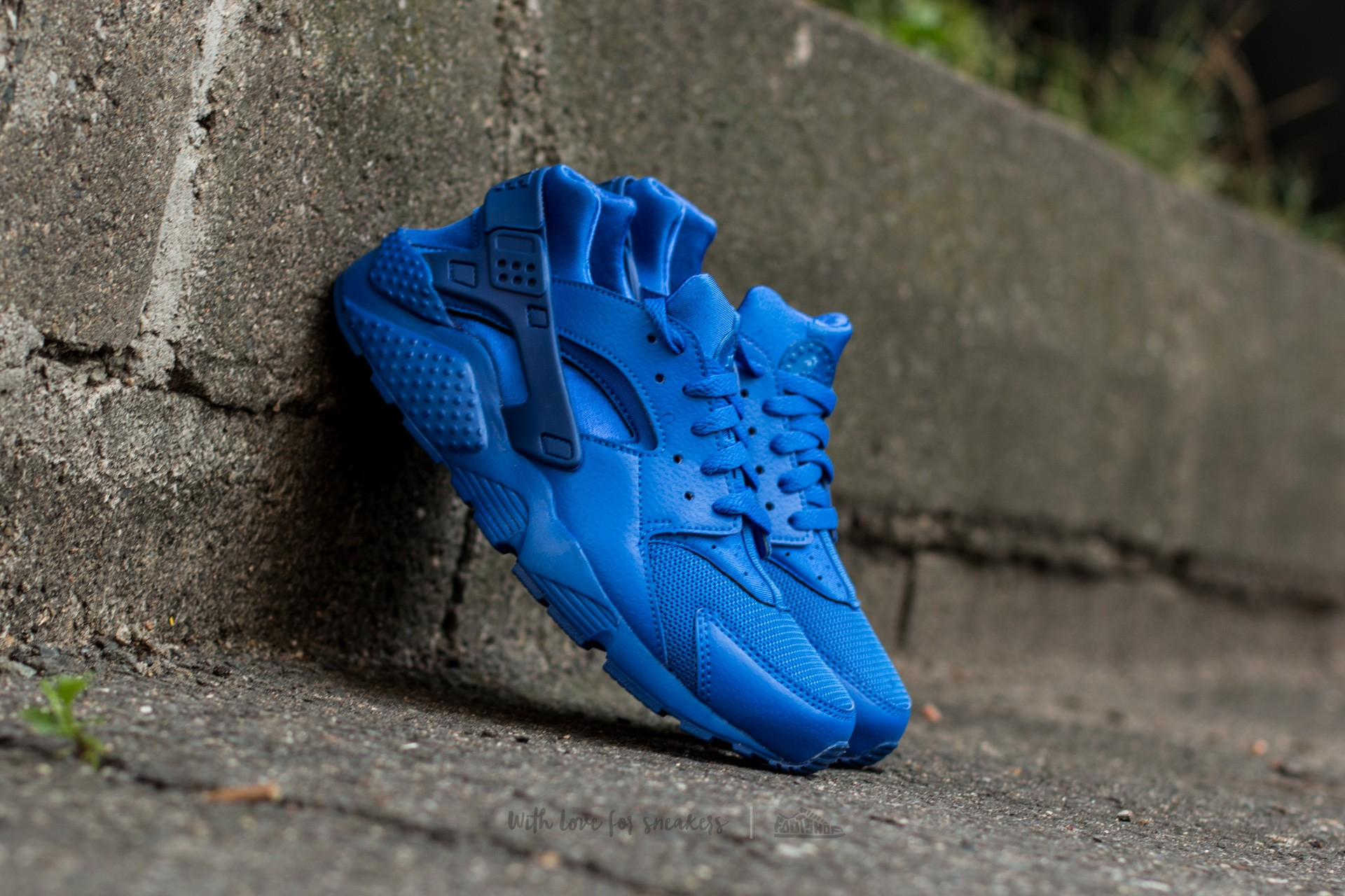 Nike Huarache Run (GS) Game Royal/ Game Royal-Game Royal