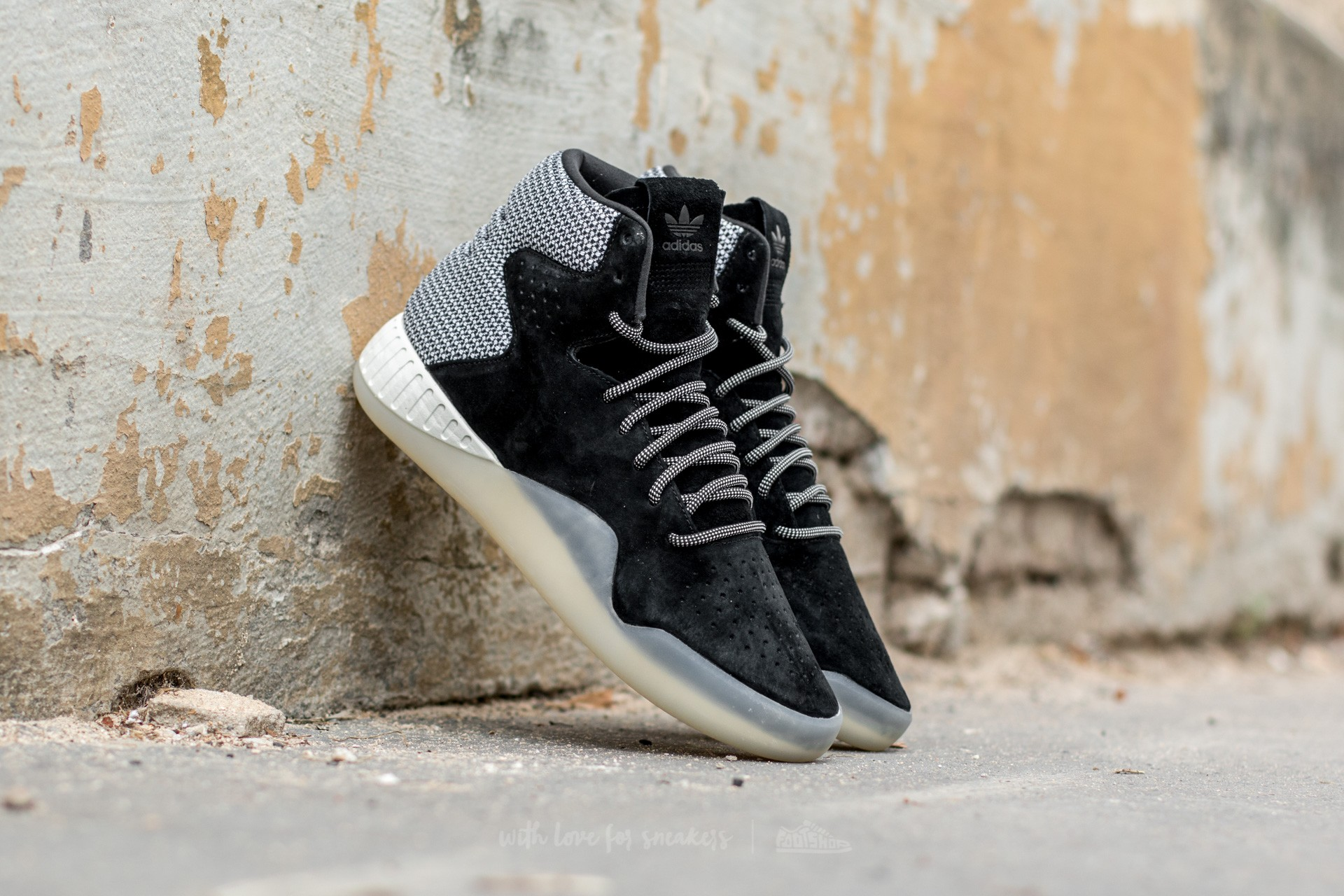 adidas Tubular Instinct Core Black/ Off White/ Off White