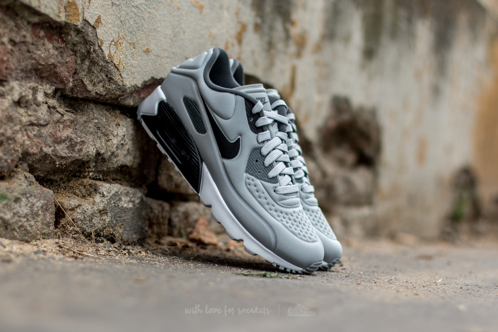 Nike Air Max 90 Ultra SE Wolf Grey/ Black-Dark Grey-White Footshop – FR