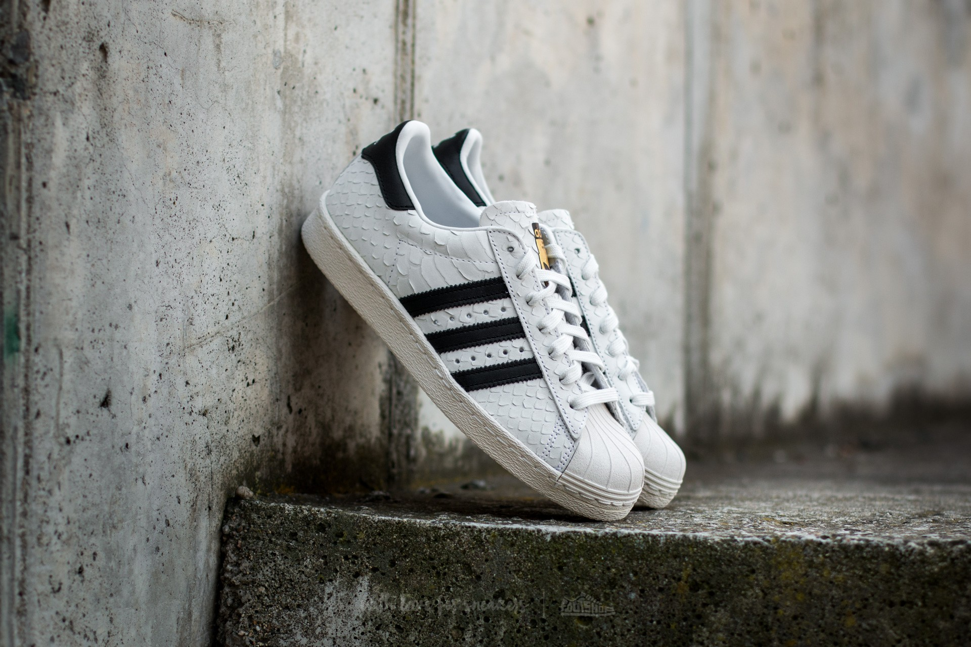 adidas Superstar 80s W Crystal White/ Core Black/ Core White
