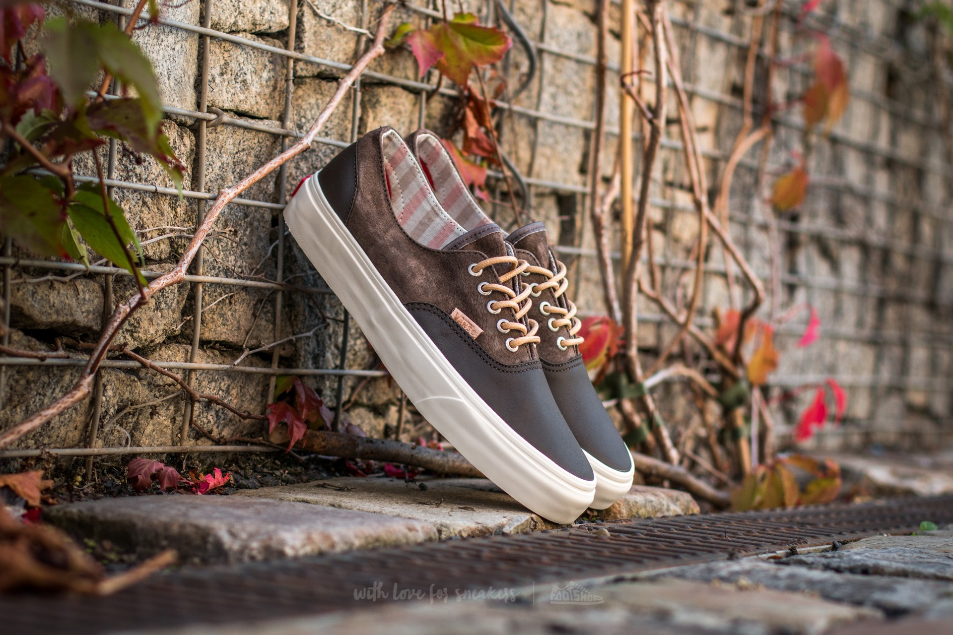 Vans Era Decon DX Leather/ Nubuck Wren/ Marshmallow Footshop – FR