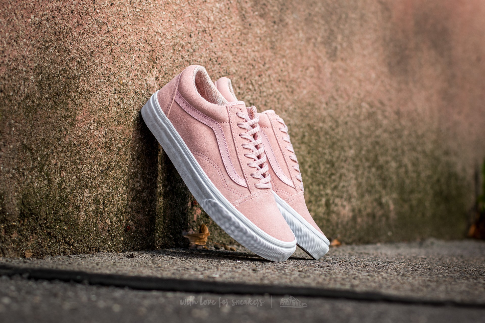 Vans Old Skool Suede/ Woven Peachskin/ True White Footshop – FR