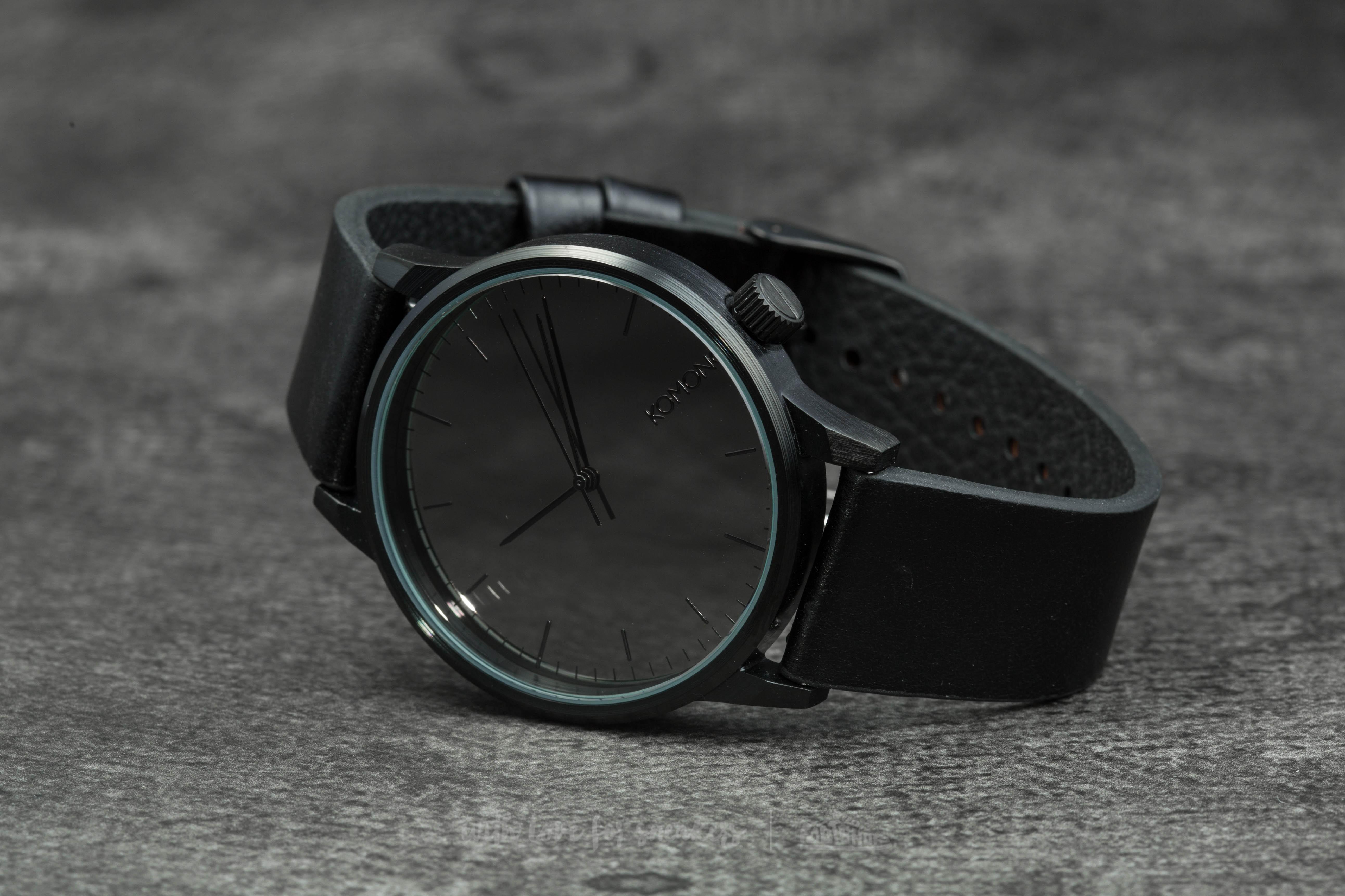 Komono Winston Mirror Black/ Black Footshop – FR
