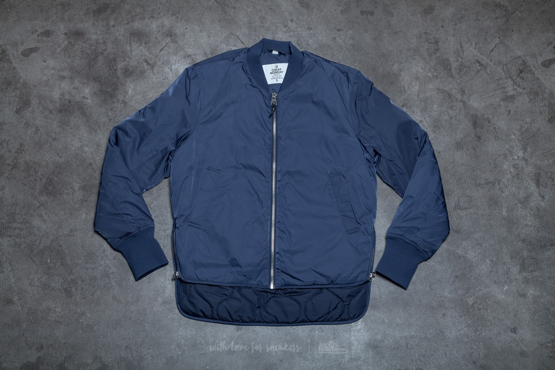 Cheap Monday Villain Bomber Light Navy