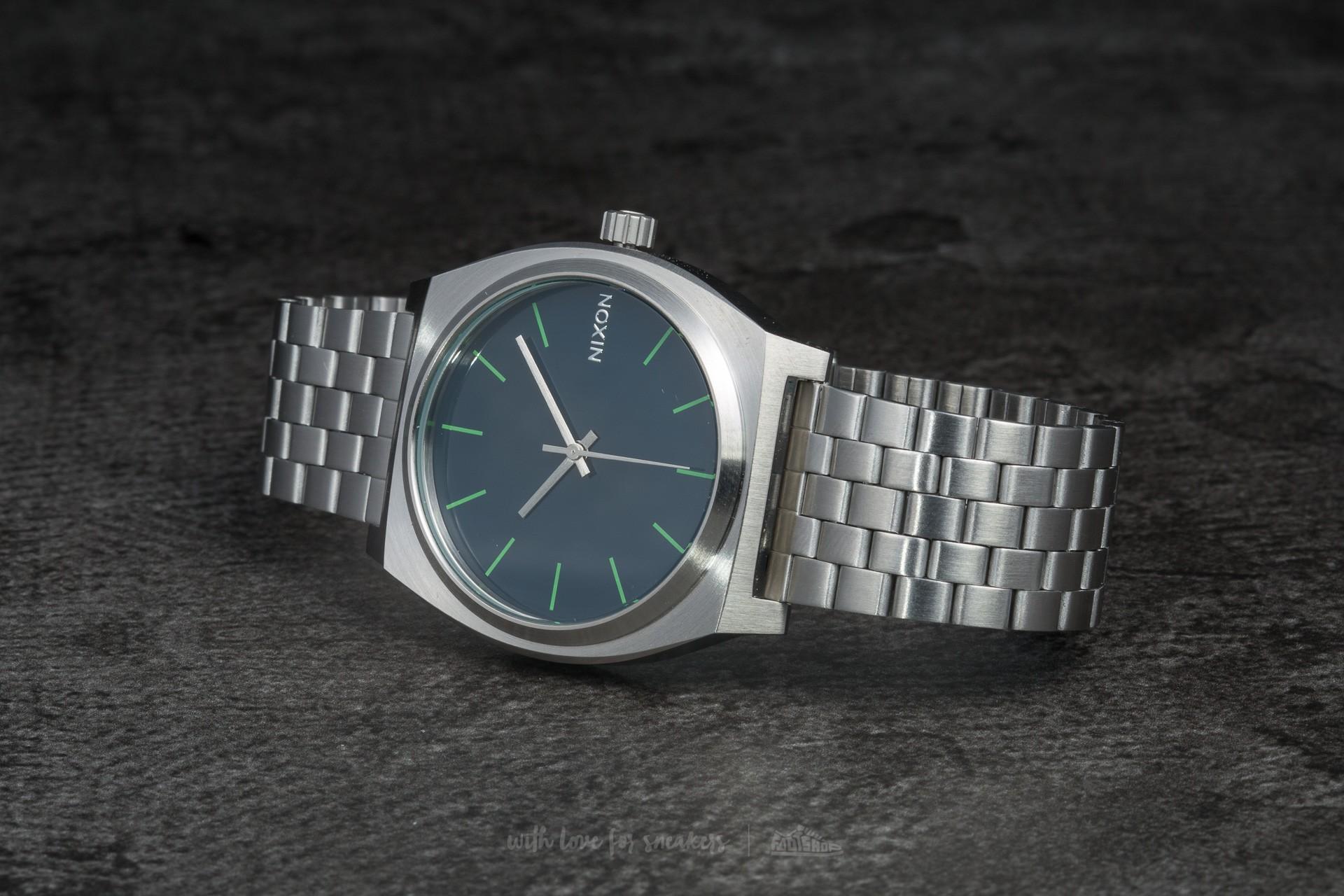 Nixon Time Teller Midnight Blue/Volt Green