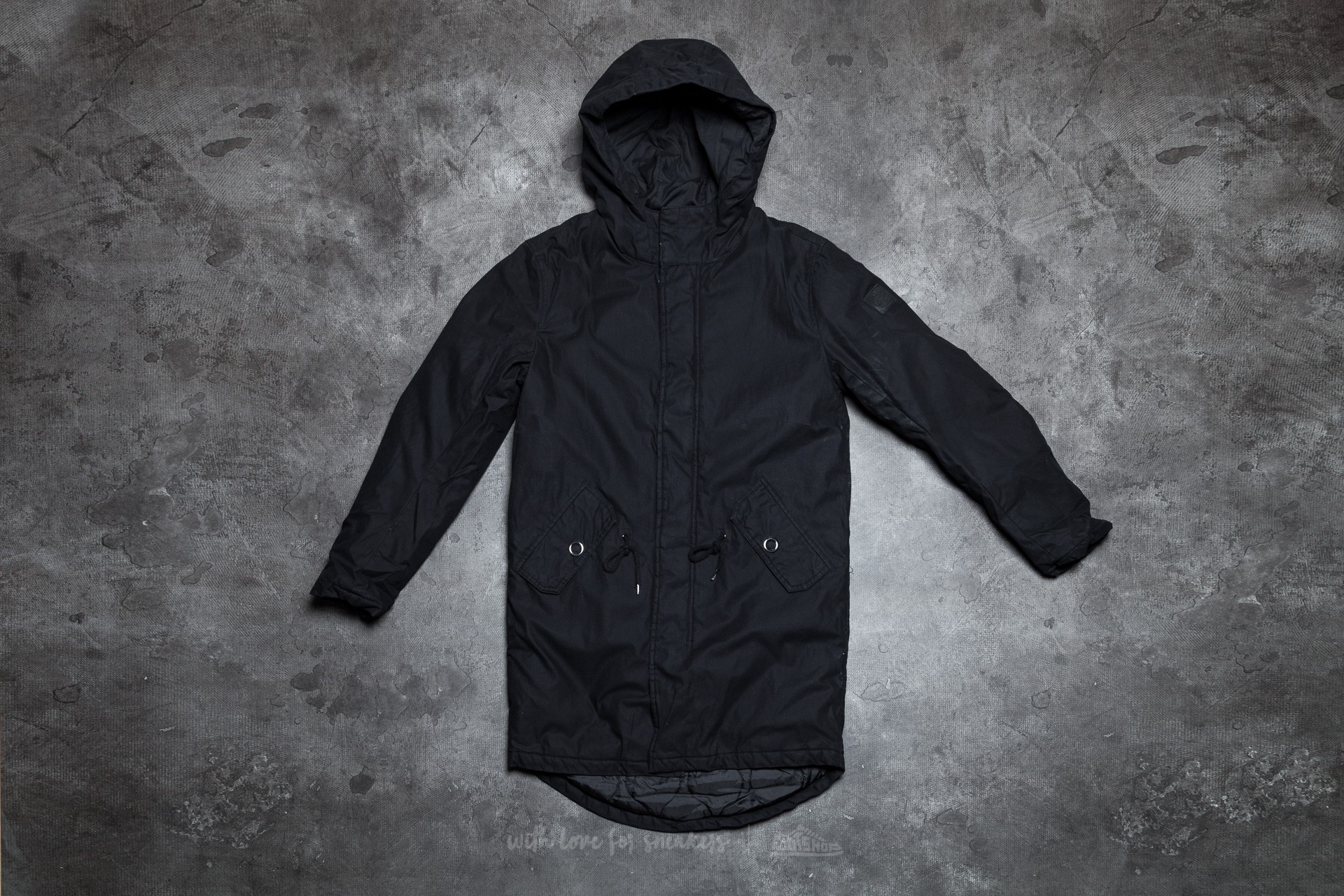 Cheap Monday Cage Parka Black