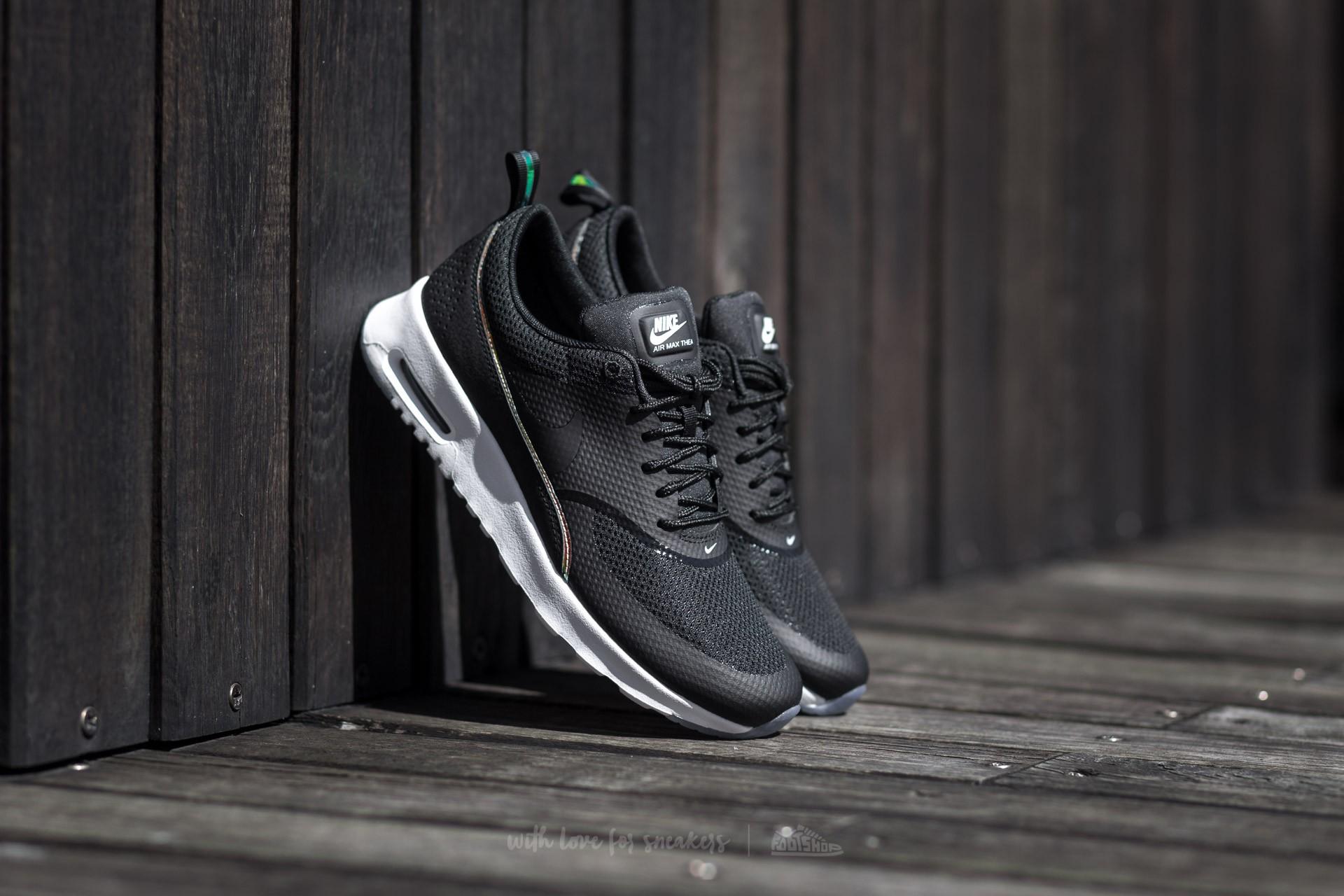 Nike Wmns Air Max Thea Premium Black/ Black-Blue Tint