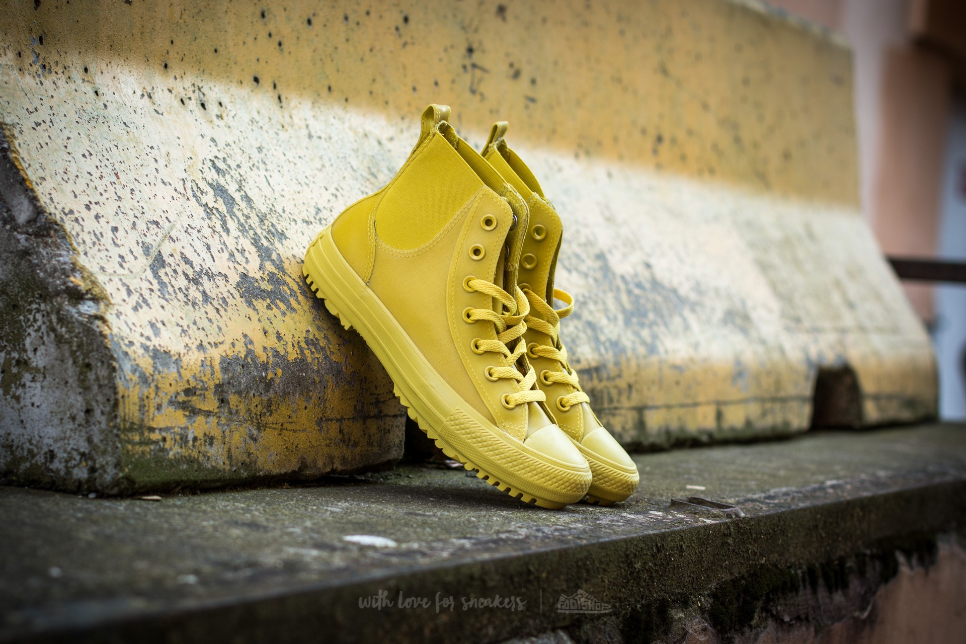 Converse Chuck Taylor All Star Chelsea Boot Rubber Hi Bitter Lemon/ Bitter Lemon