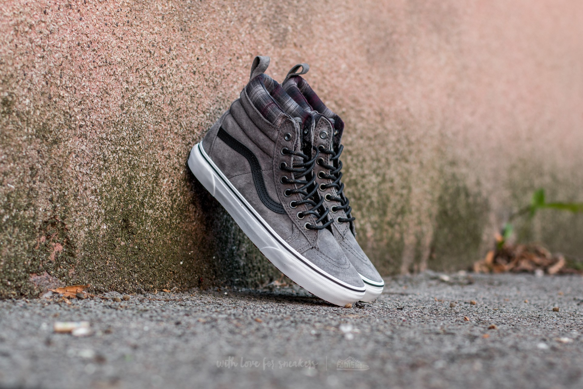 Vans Sk8-Hi MTE (MTE) Pewter/ Plaid Footshop – FR