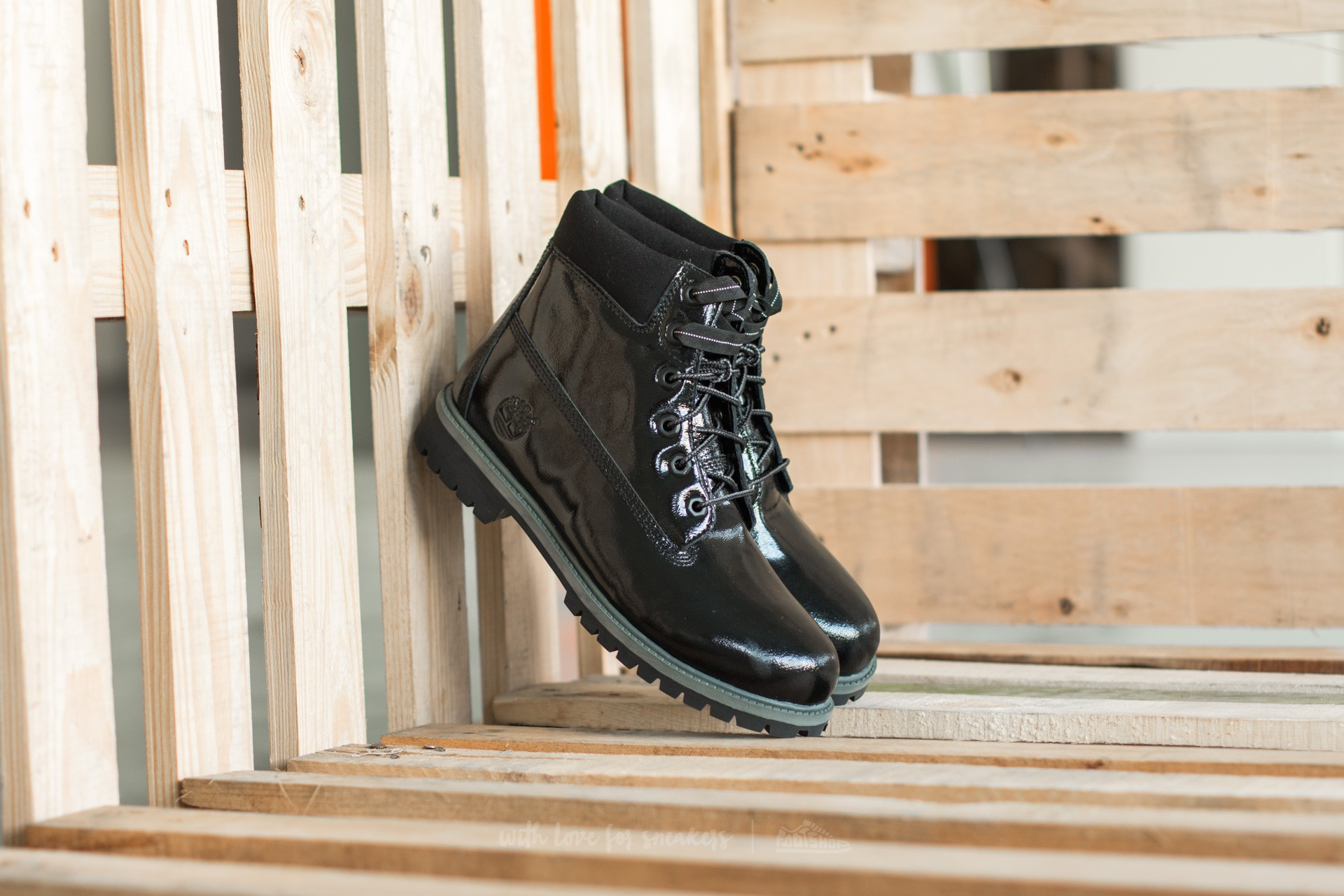 Timberland 6 in Premium Waterproof Boot Black