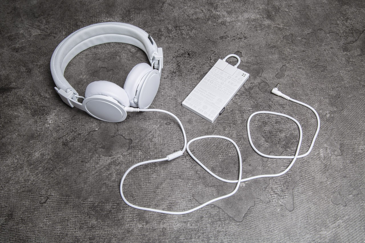 Urbanears Back To It Bundle - Plattan ADV Wireless White + 2000 mAh Powerbank