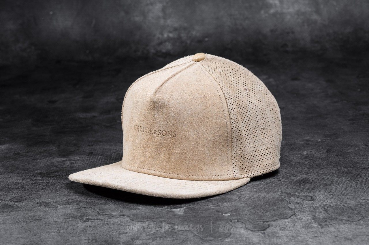 Cayler & Sons BL Apache Cap Brown Suede/ Gold